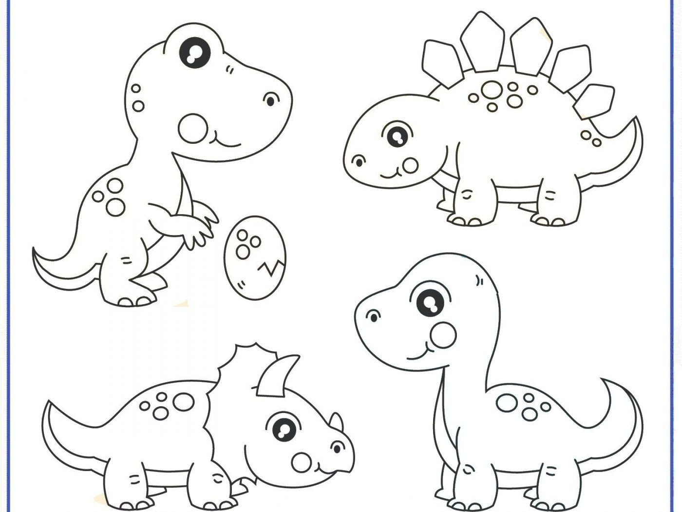 Dinosaur Worksheets for Preschoolers Printable Dinosaur Coloring Dinosaurg Preschool