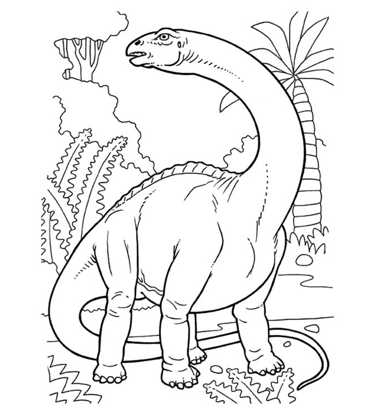35 Unique Dinosaur Coloring Pages Your Toddler Will Love 1