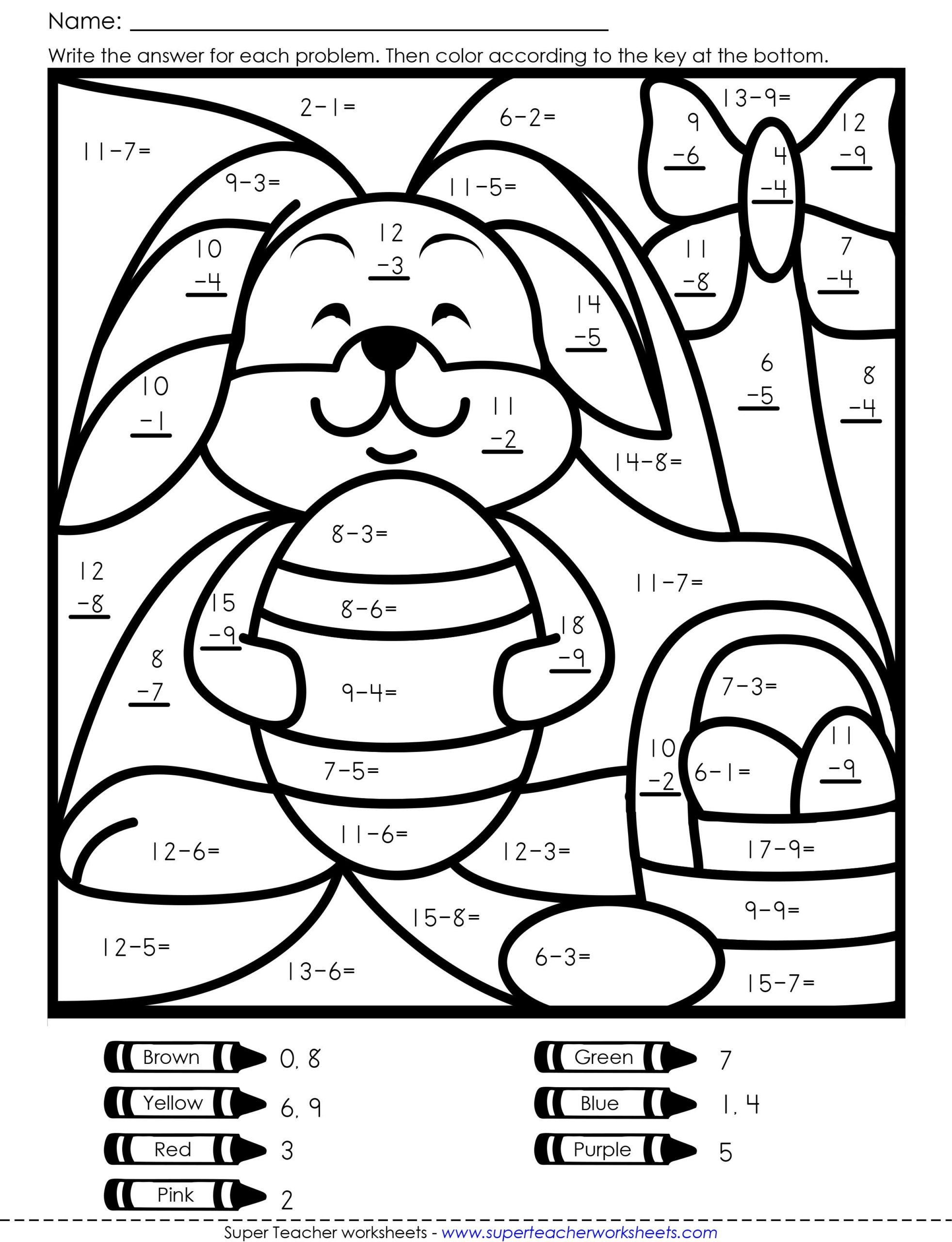 Division Coloring Worksheets Freeth Coloring Worksheets Fun 4th Grade 2nd 5th Division