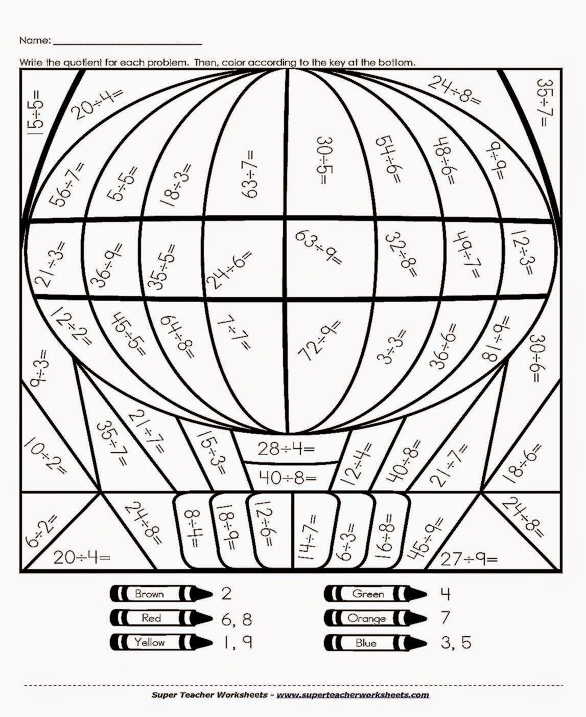 Division Coloring Worksheets Image Result for Division Coloring Puzzles