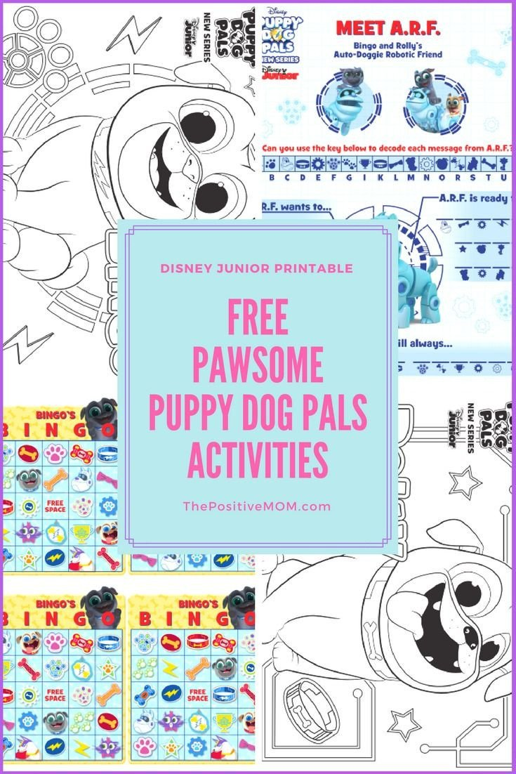 Dogs Decoded Worksheet Free Puppy Dog Pals Activity Sheets for Kids Disneyjunior