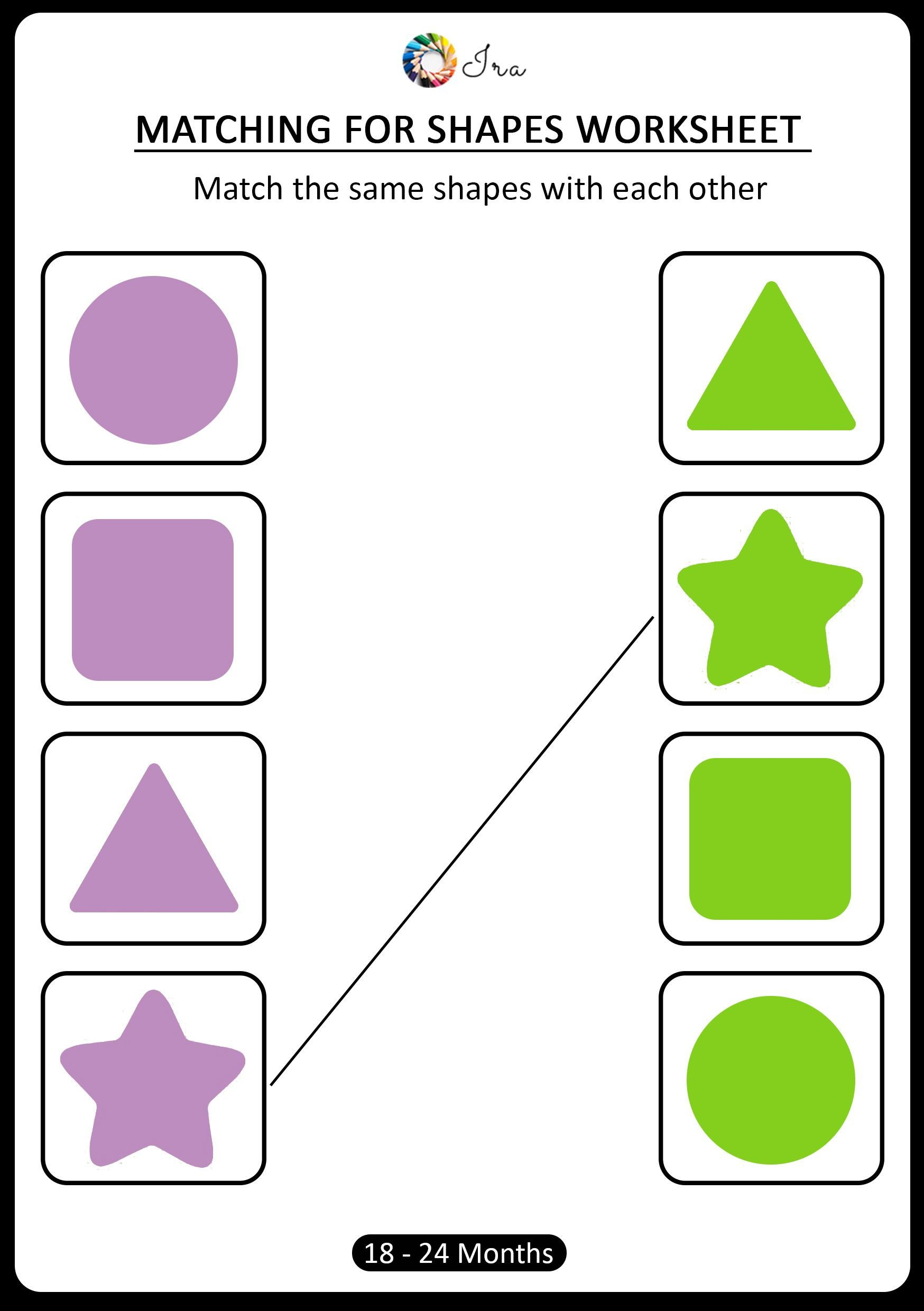 Early Childhood Worksheets Matching is An Important Early Childhood Math Skill that