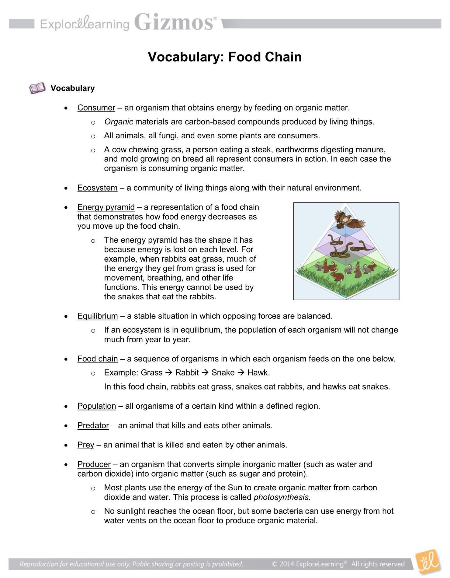Ecosystem Worksheet Answer Key Pin On Printable Blank Worksheet Template