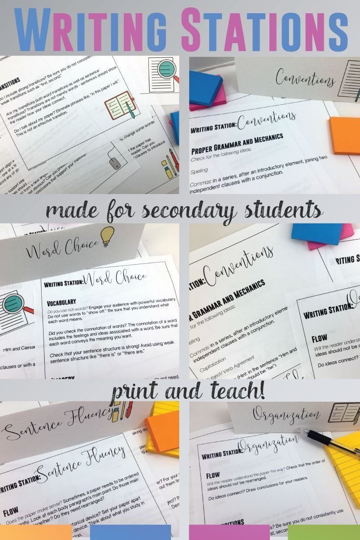 Editing Worksheets High School Editing and Revising Activities for Secondary Students