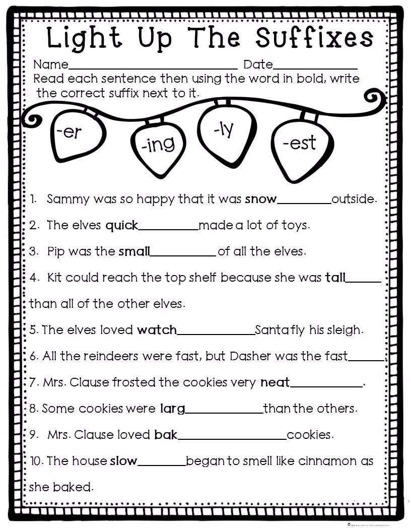 Er Est Worksheets 2nd Grade How to Survive the Winter Holidays as A Teacher