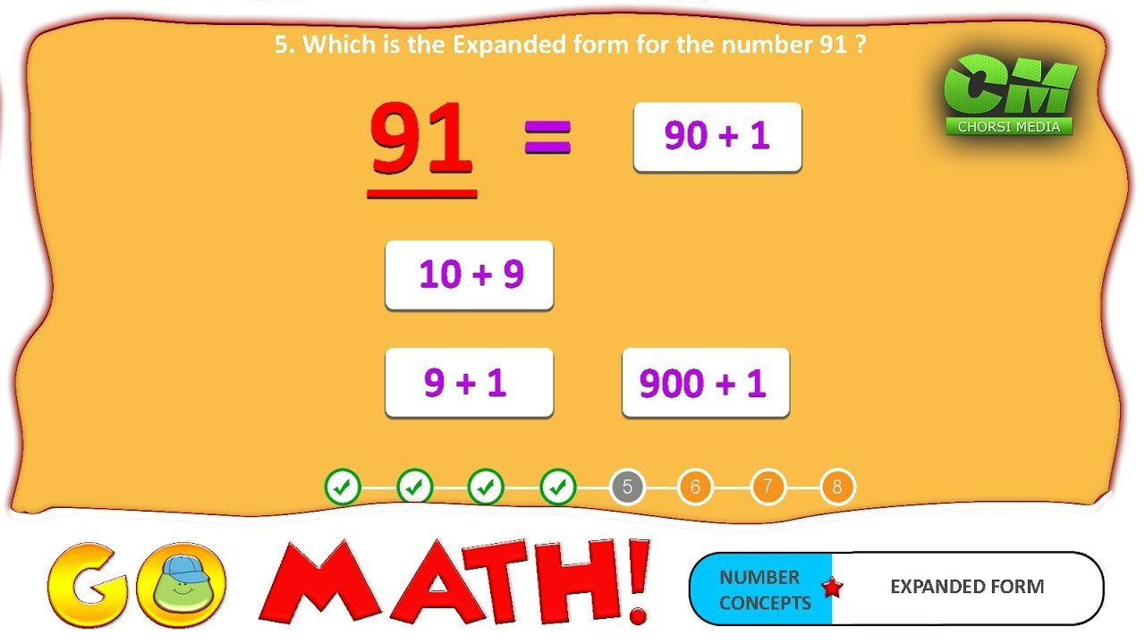 Expanded form Worksheets Second Grade Go Math 2 Digit Expanded form