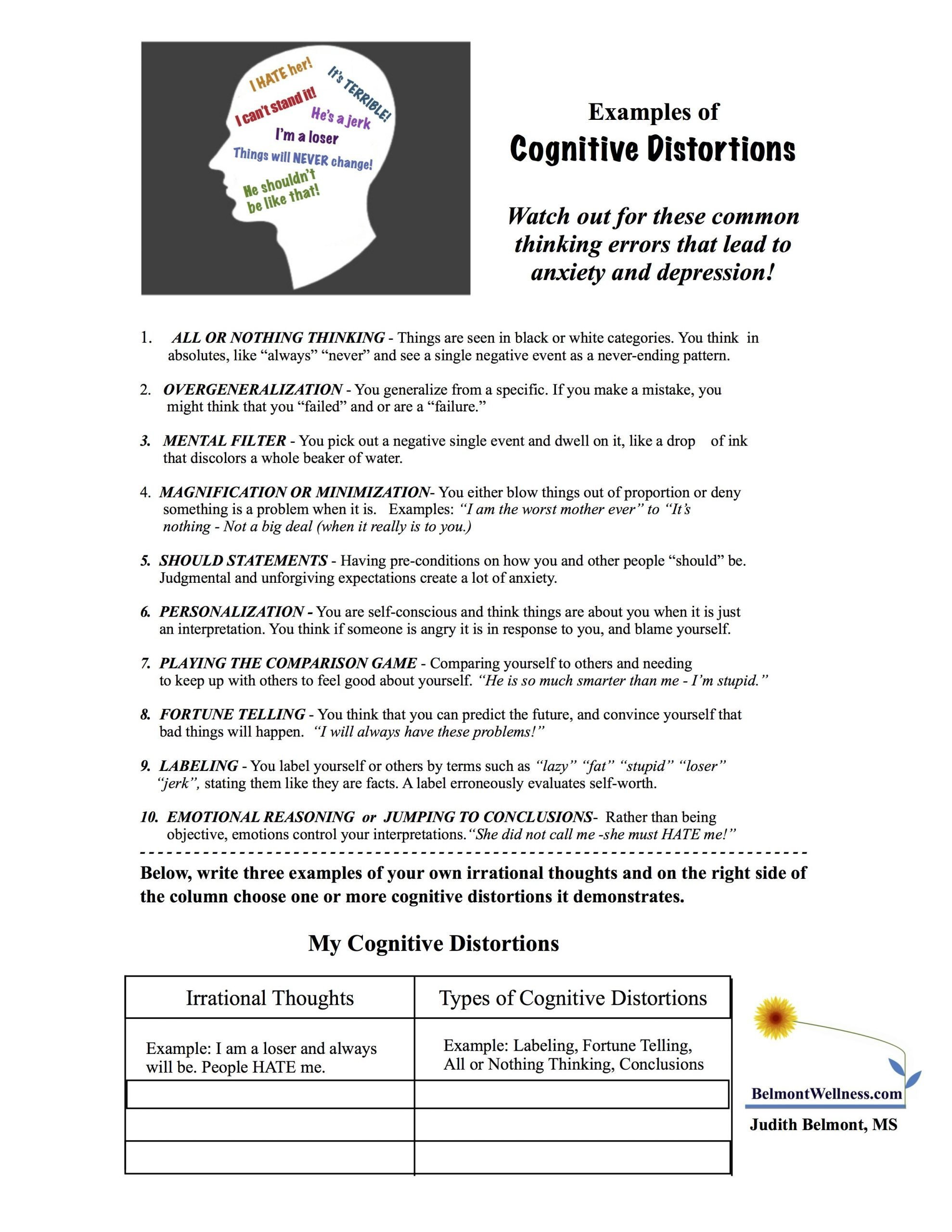 Family therapy Communication Worksheets Narrative Family therapy Worksheet