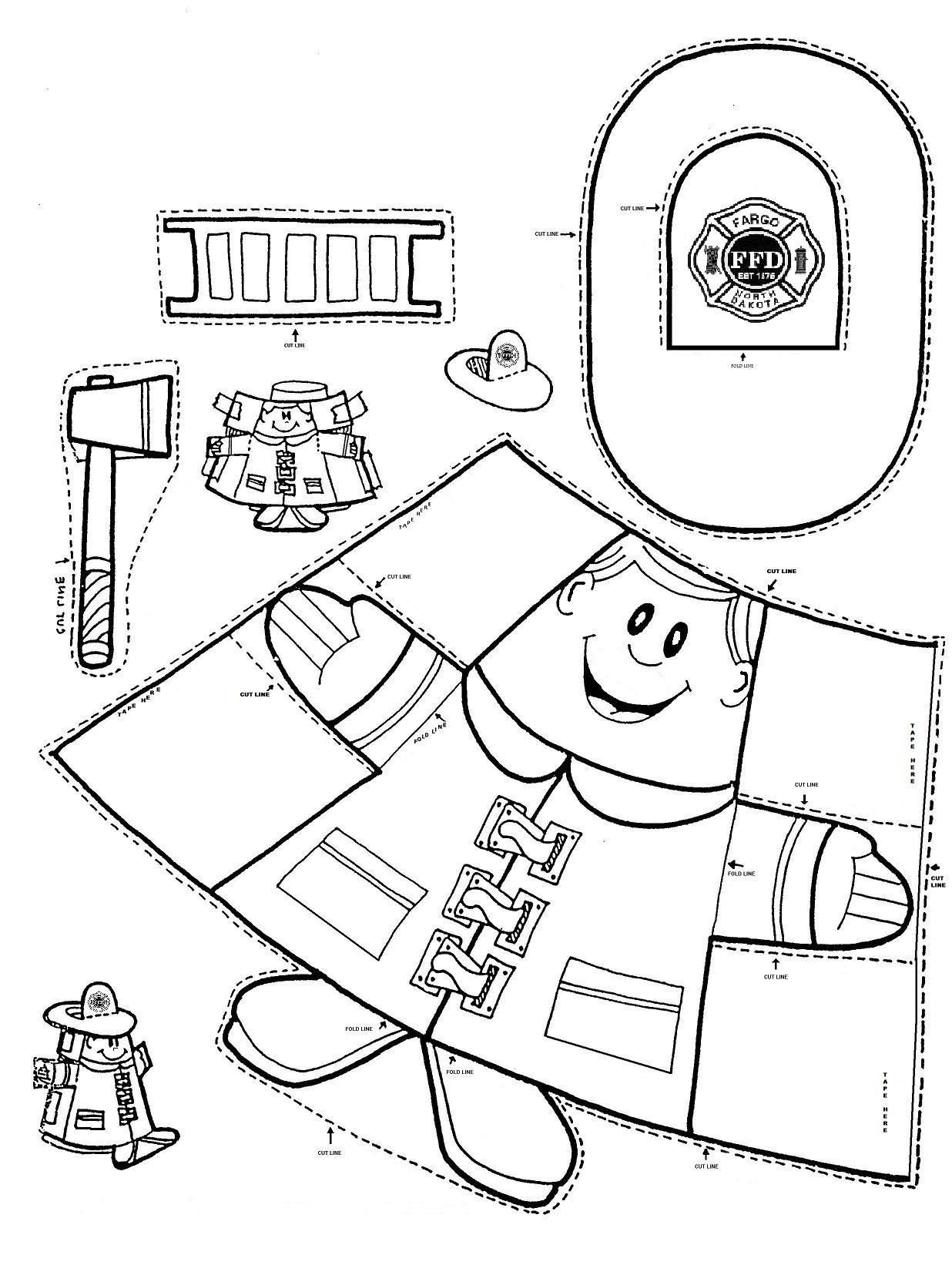 Fire Safety Worksheets Preschool Fire Safety Kindergarten Nana