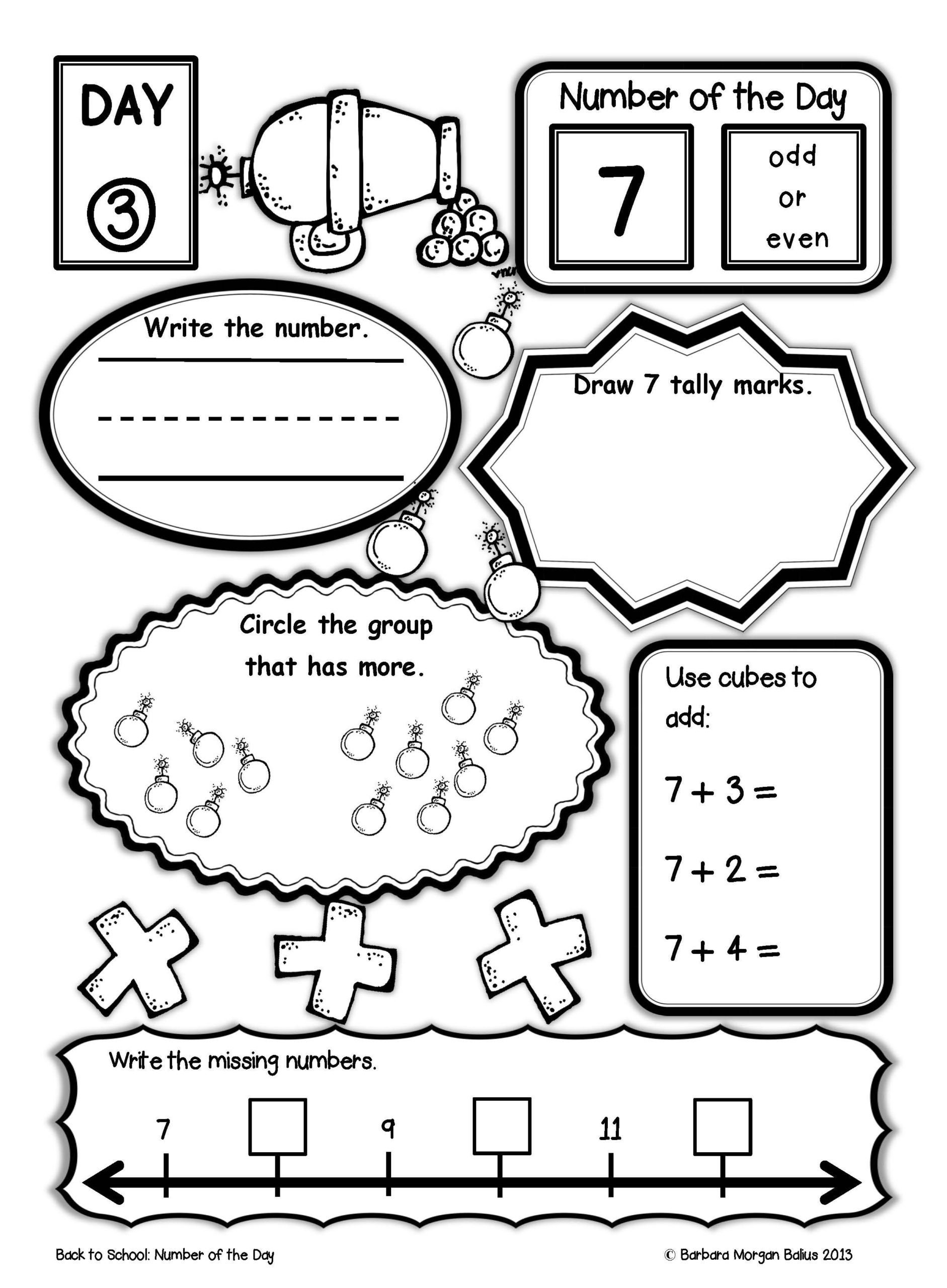 First Grade Graphing Worksheets 1st Grade Line School Back to School Activities for First