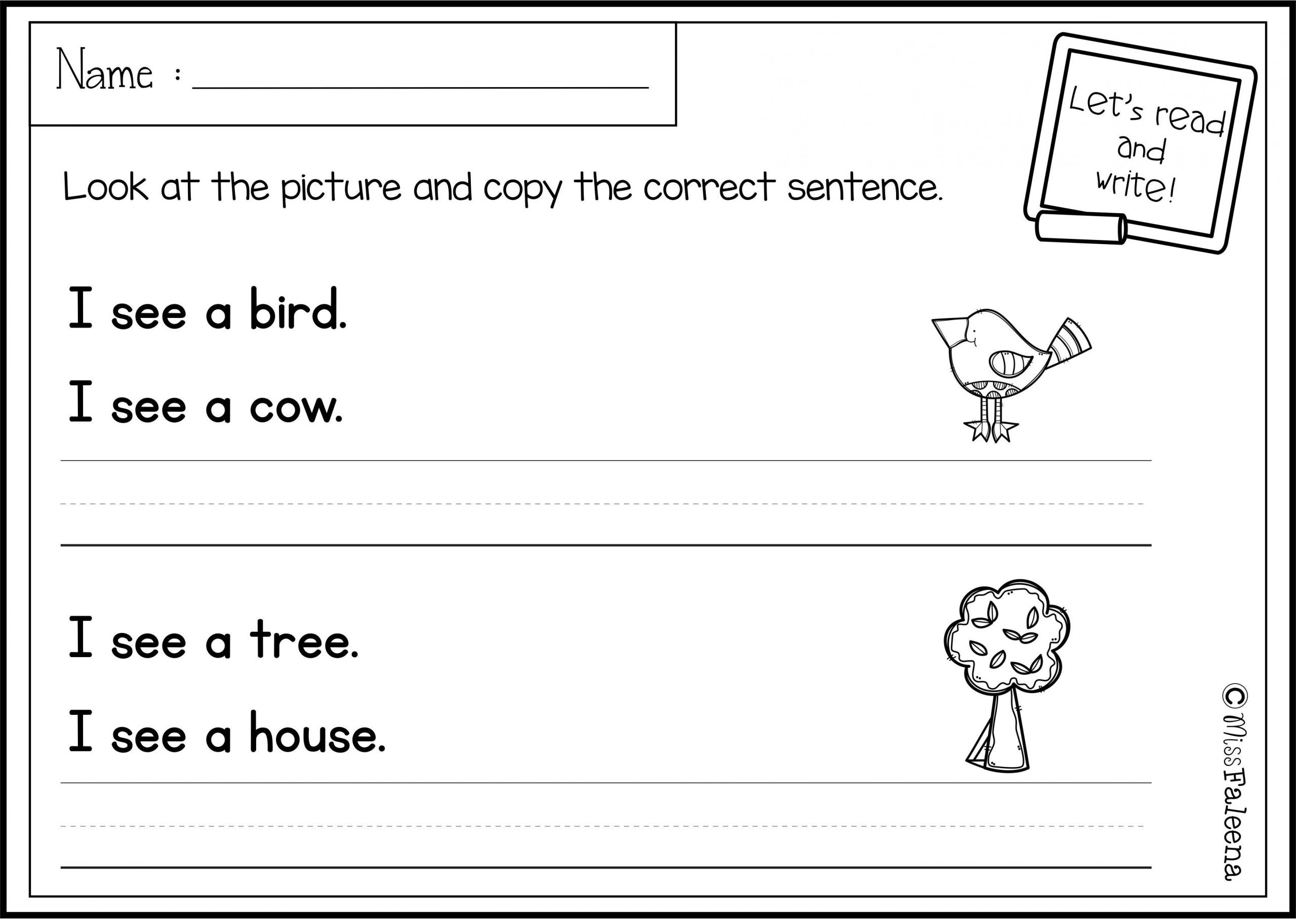 First Grade Sentence Writing Worksheets there are 20 Pages Of Sentence Writing Worksheets In This