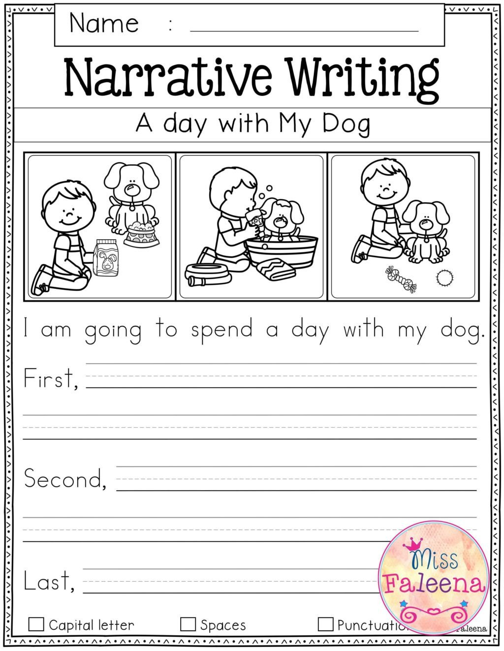 First Grade Sentence Writing Worksheets Worksheet Writing Worksheets for 1st Grade First Reading
