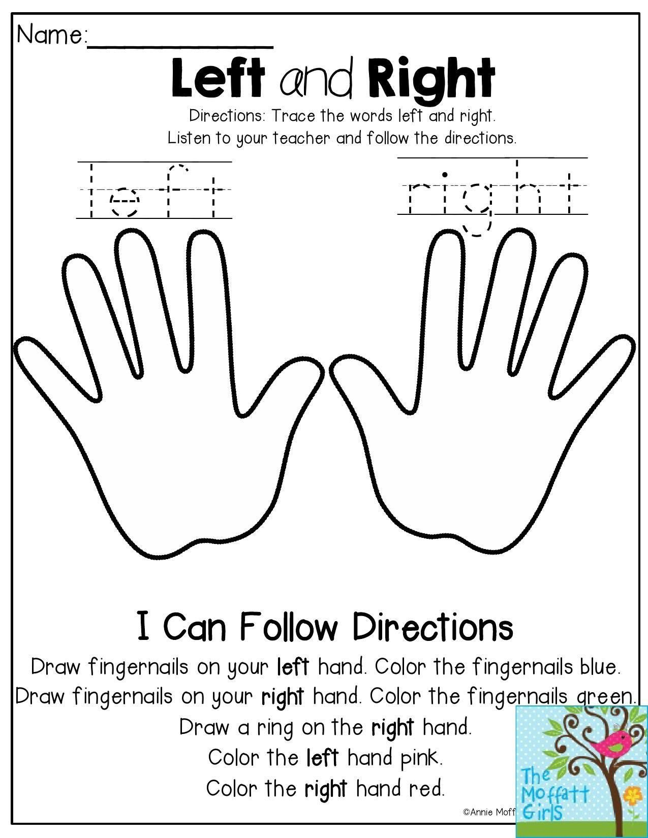 Follow Directions Worksheet Kindergarten Pin On Kindergarten Worksheets Free Printable