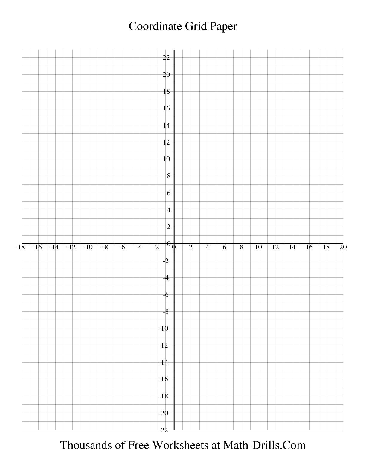 Free Coordinate Graphing Worksheets Math Aids Coordinate Graphing Worksheets