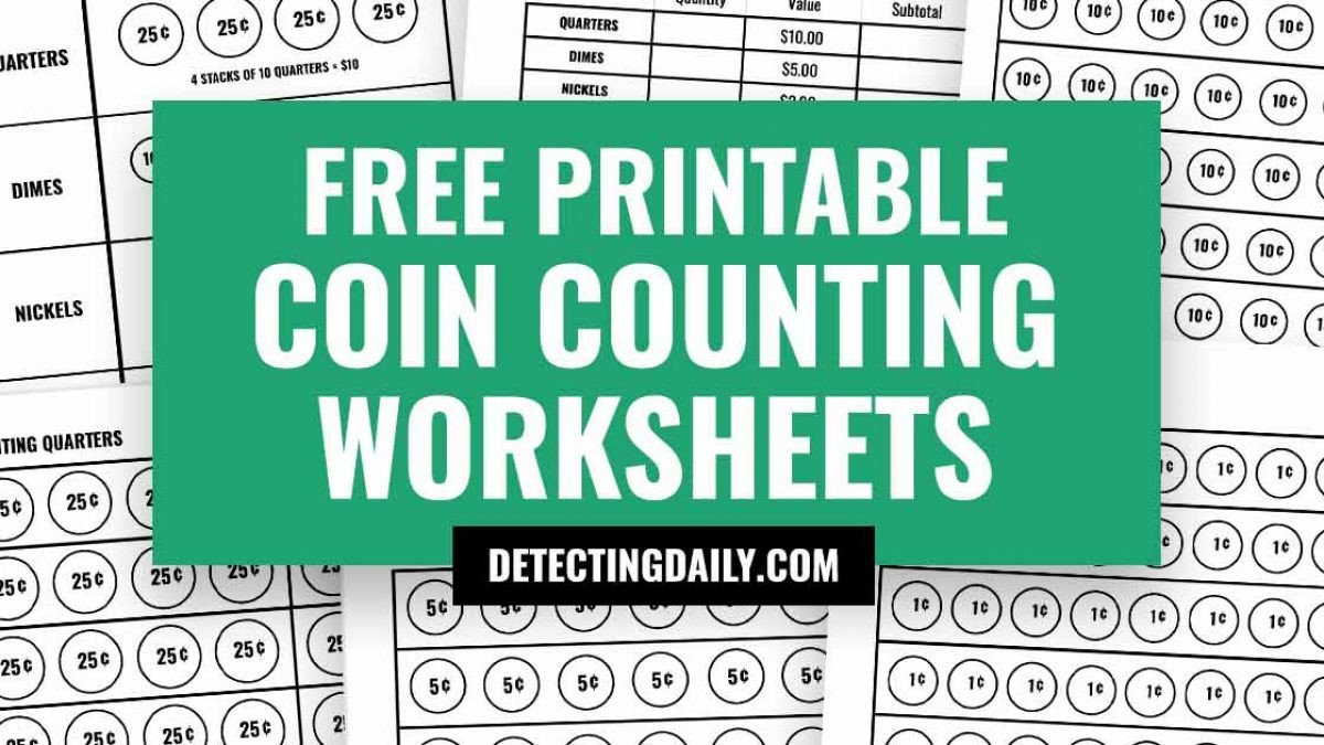 Free Counting Coins Worksheets Free Coin Counting Worksheets Printable