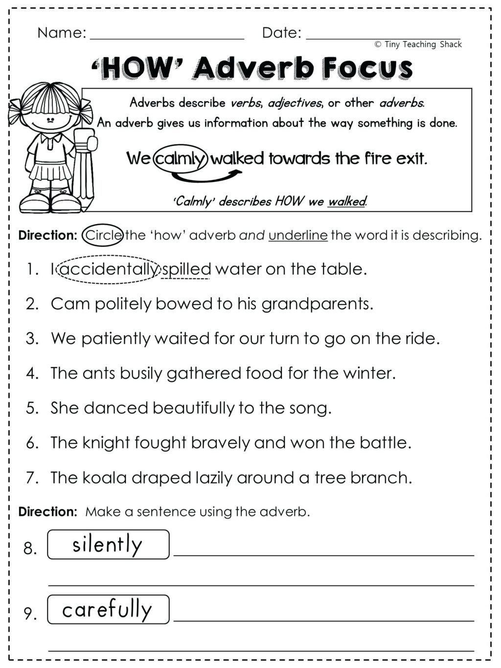 Free Printable Capitalization Worksheets Worksheet Worksheet Ideas Reading Worskheets English