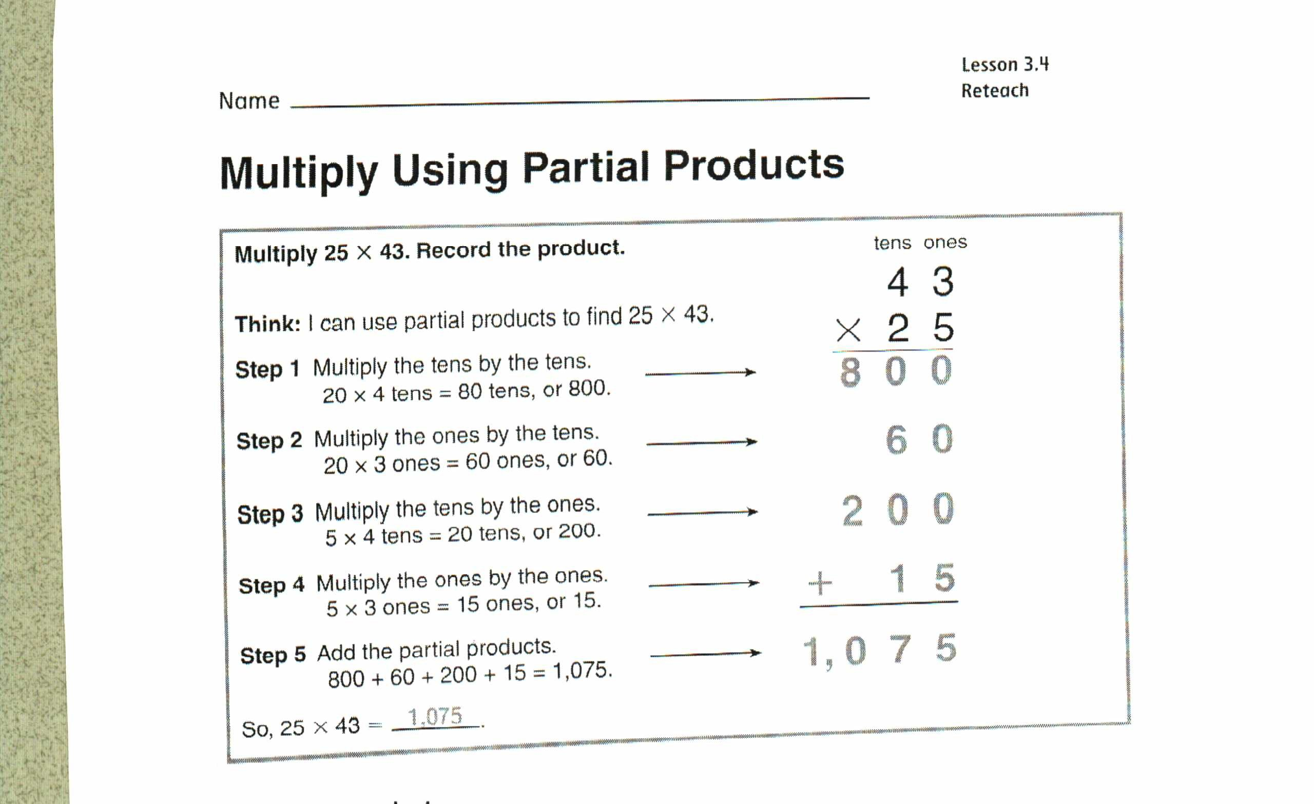 Friendly Numbers Worksheet Chapter 3 Mr Kinney S 4th Grade Site