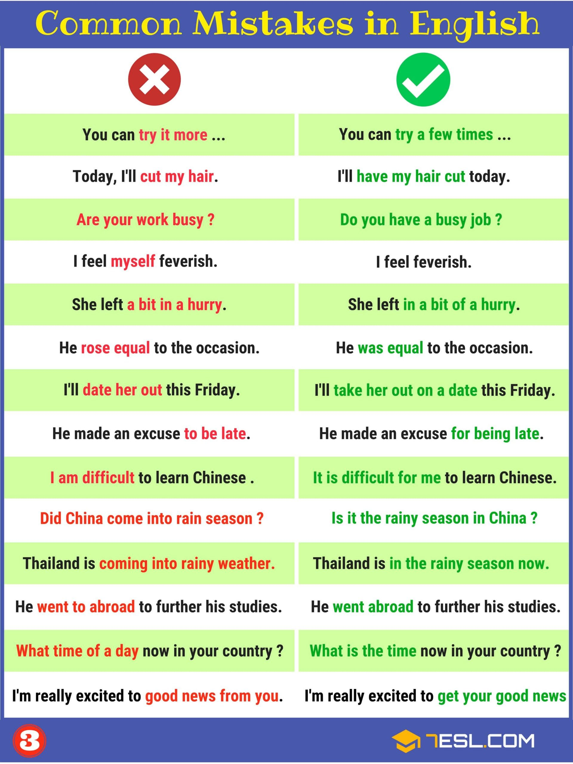 Funny Comma Mistakes Worksheets Mon Grammar Errors Worksheets