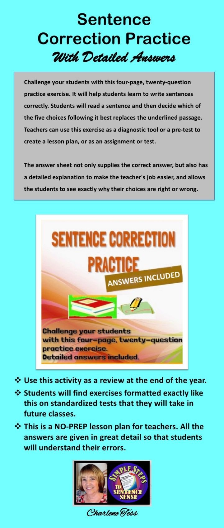 Grammar Worksheets Parallelism Answers the Sentences Contain Errors In Parallelism Verb Tense Use