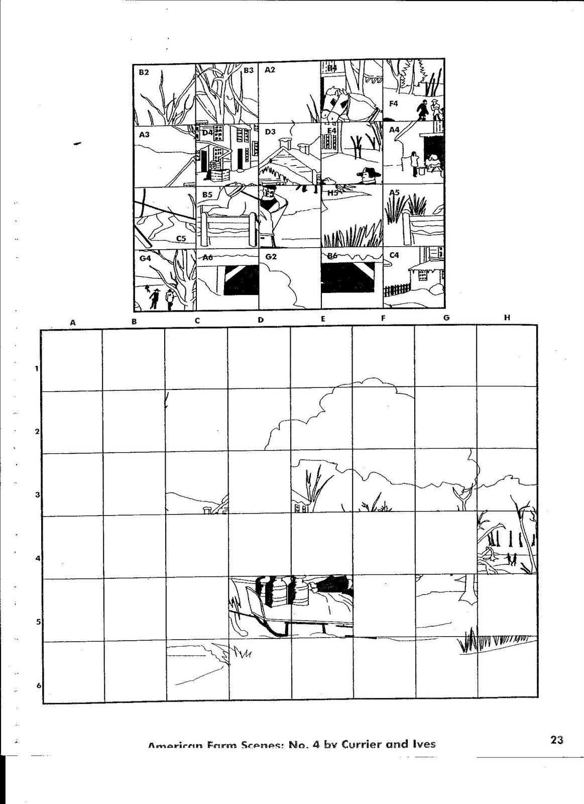 Grid Drawing Worksheets Middle School Coordinate Grid Art Worksheets