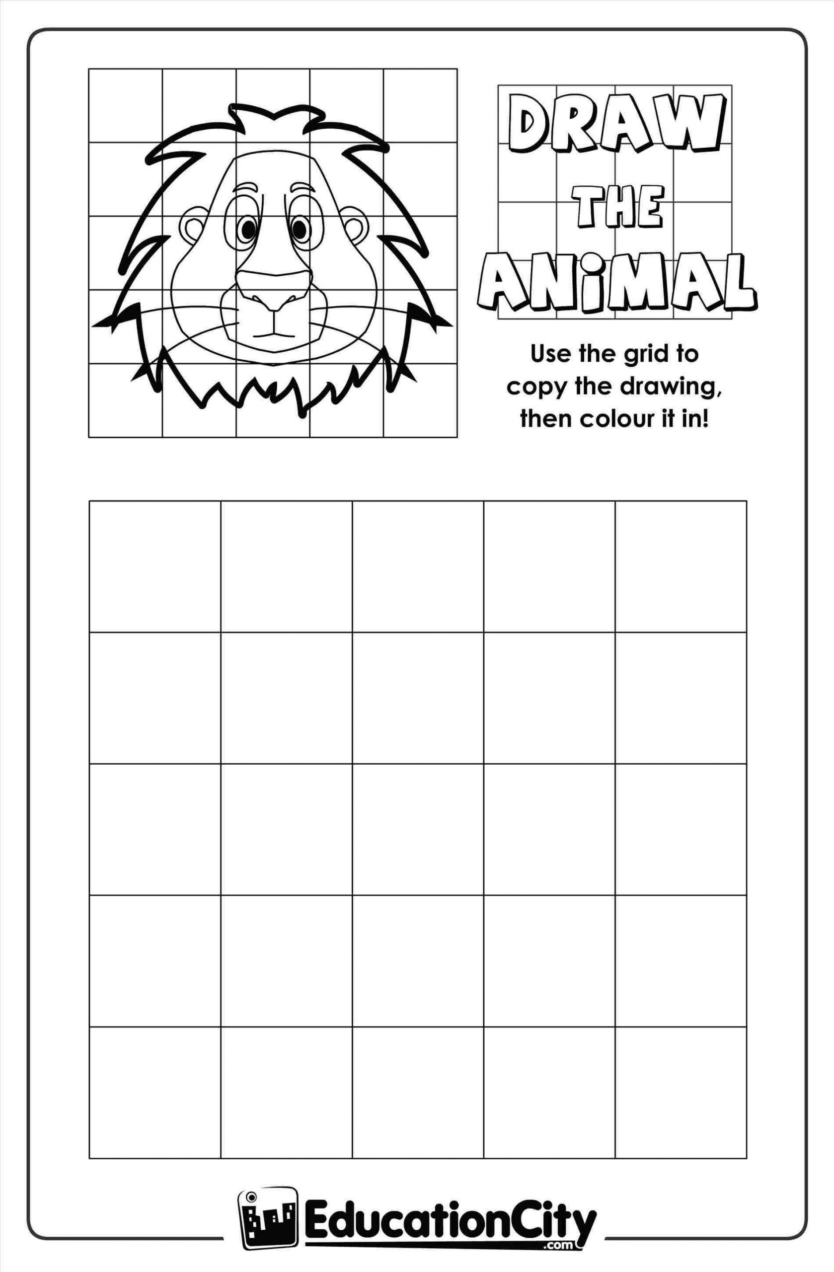 Grid Drawing Worksheets Middle School Grid Drawing Worksheet for Middle School