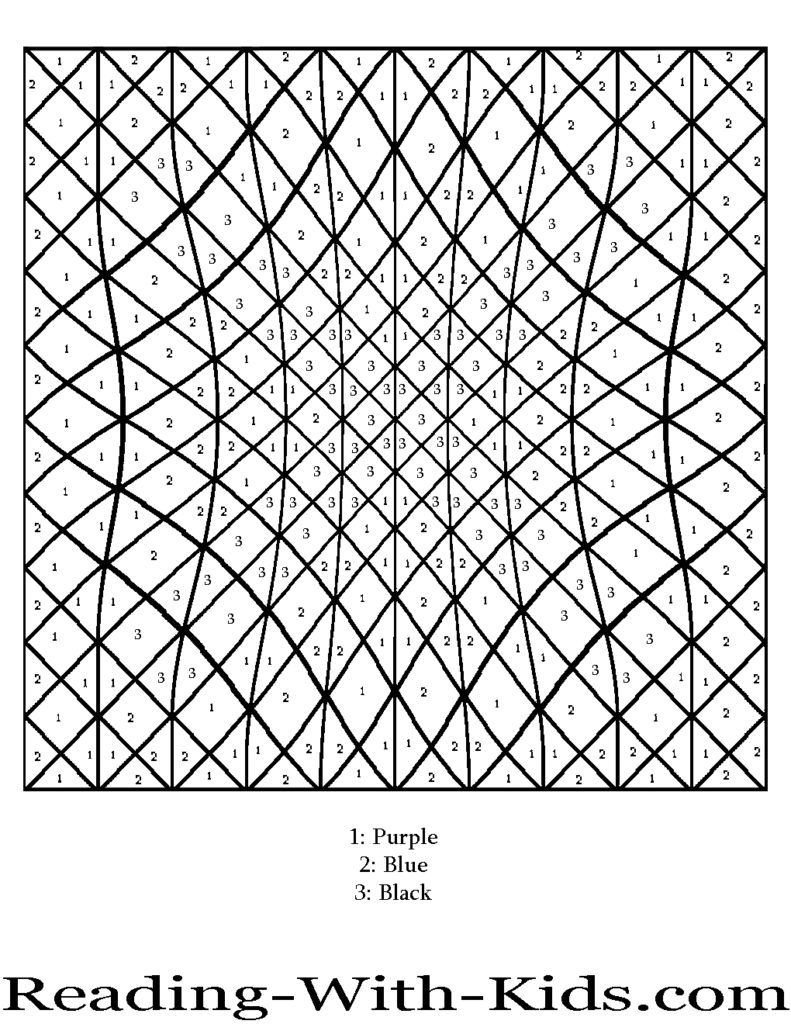 adult difficult color by number coloring pages for adults picture
