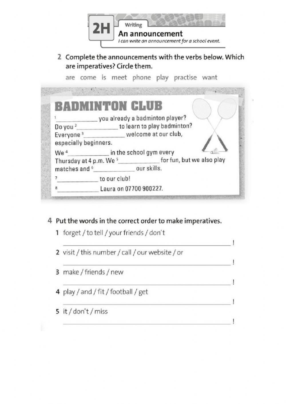 How to Make Friends Worksheet An Announcement Interactive Worksheet