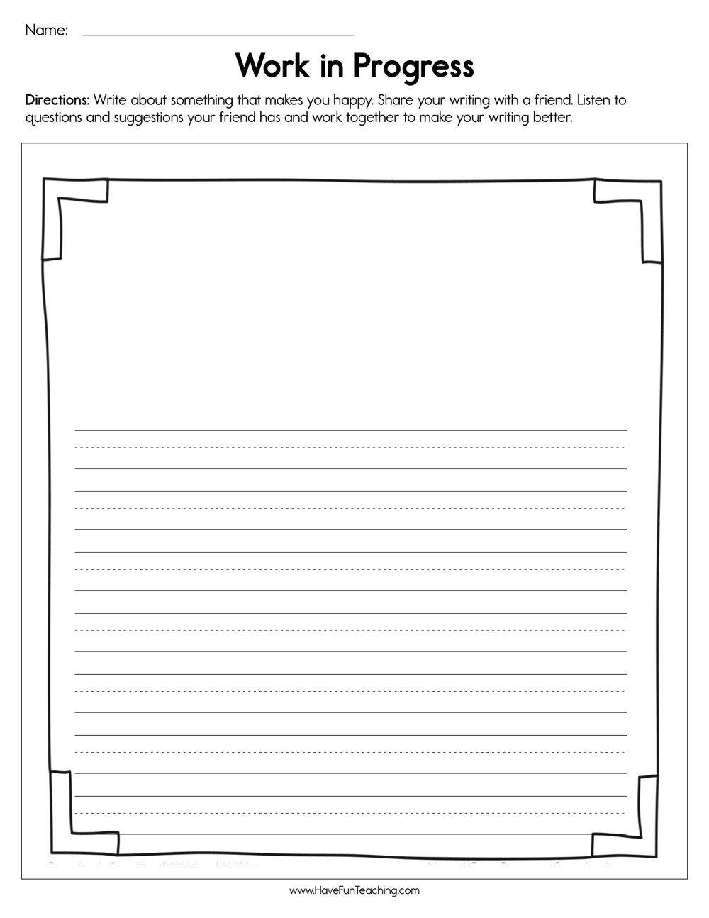 How to Make Friends Worksheet Work In Progress Worksheet
