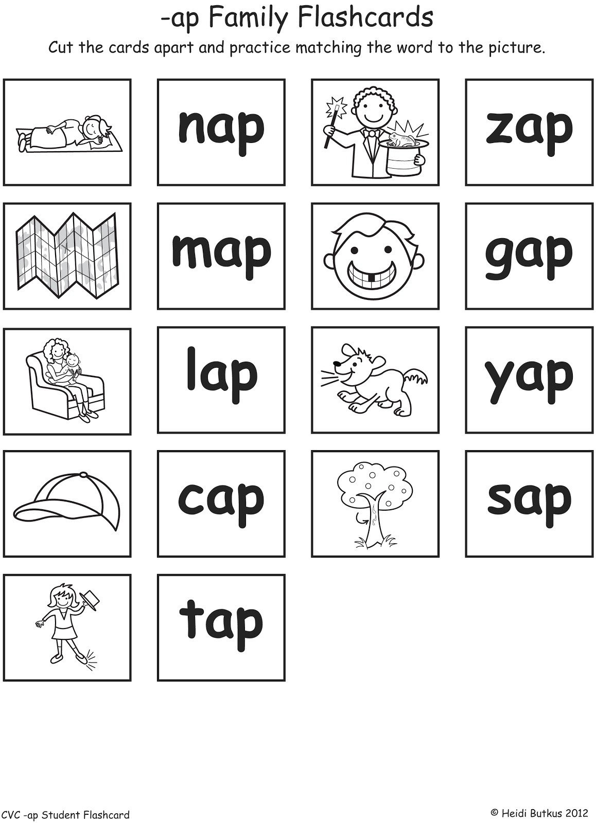 Ing Word Family Worksheets Cvc Worksheet