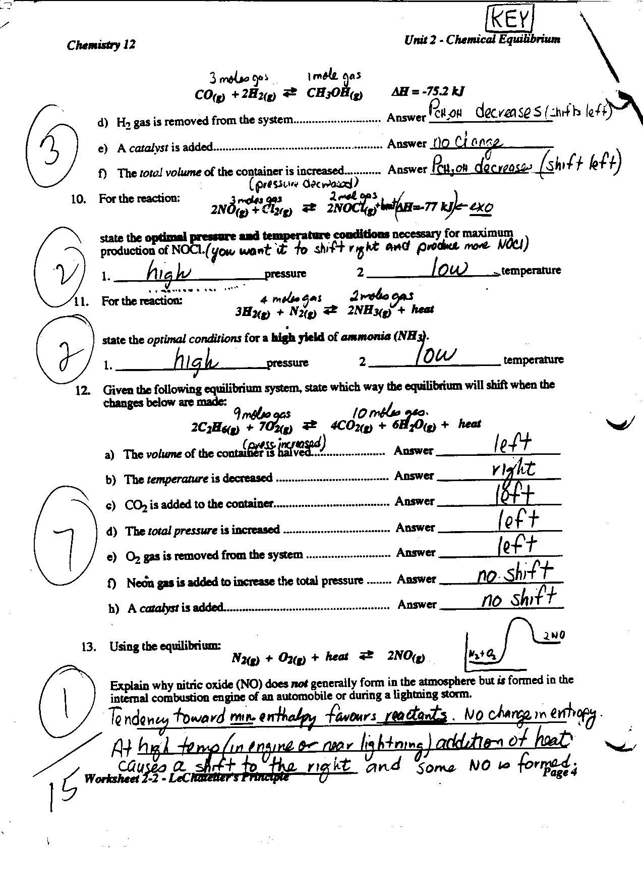 Integrated Physics and Chemistry Worksheets Chapter 2 the Chemistry Life Worksheet Answers Nidecmege