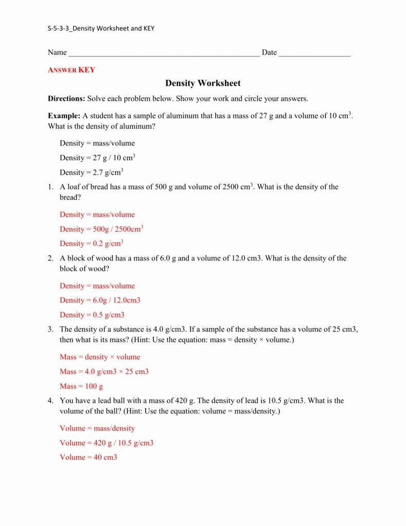 Integrated Physics and Chemistry Worksheets Chemistry Unit 10 Worksheet 2 Answers Worksheet List