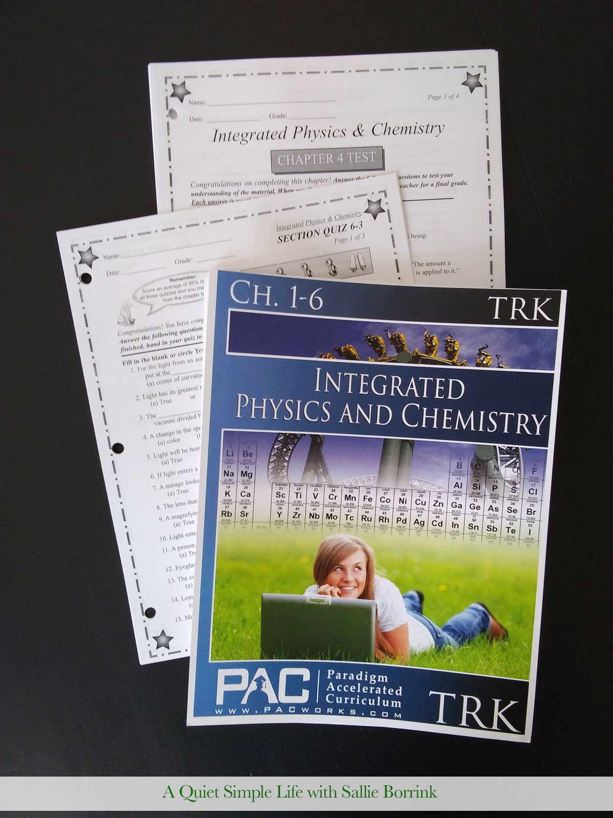 Integrated Physics and Chemistry Worksheets Physics & Chemistry for Learners who Struggle with Math A