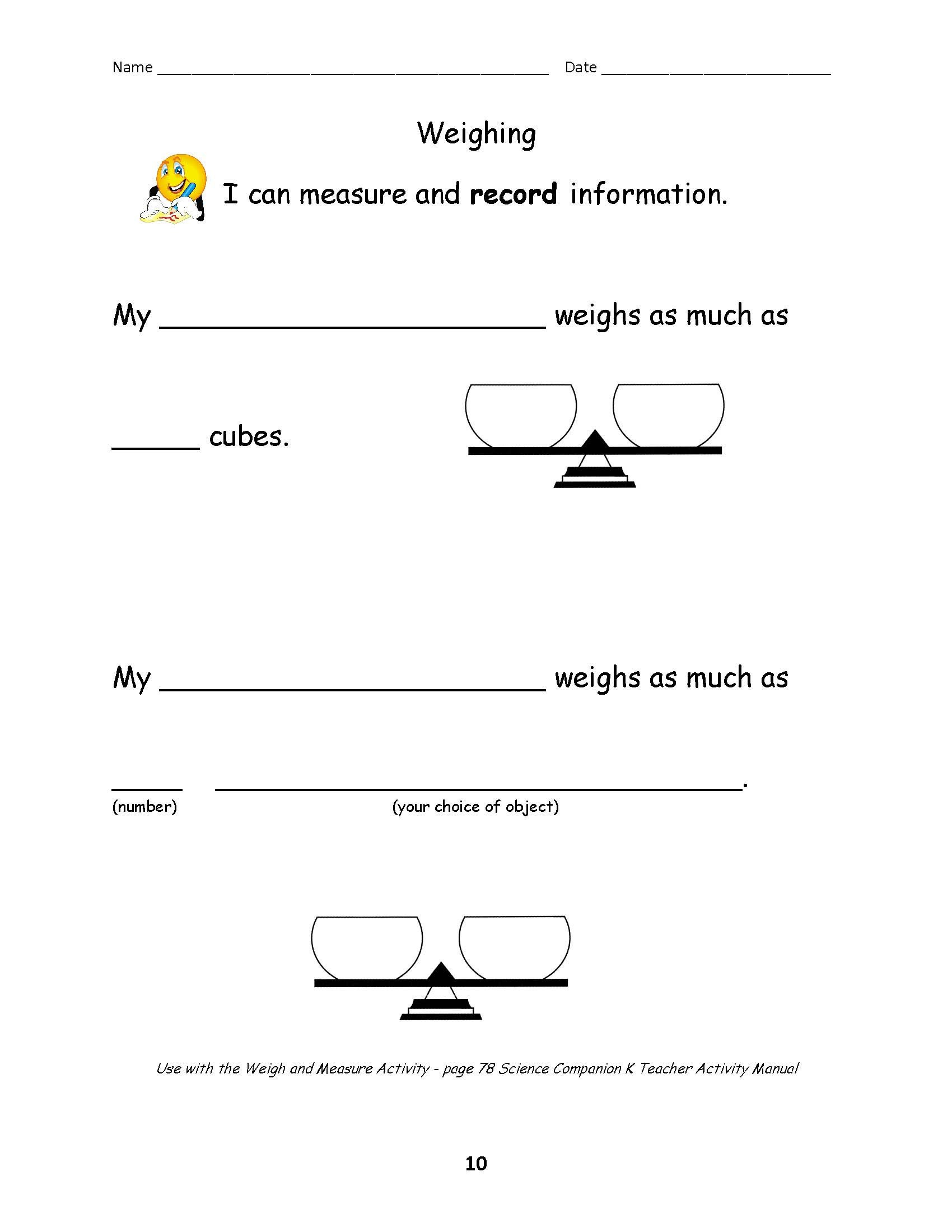 Integrated Science Cycles Worksheet Answers Line Connections Science and Children
