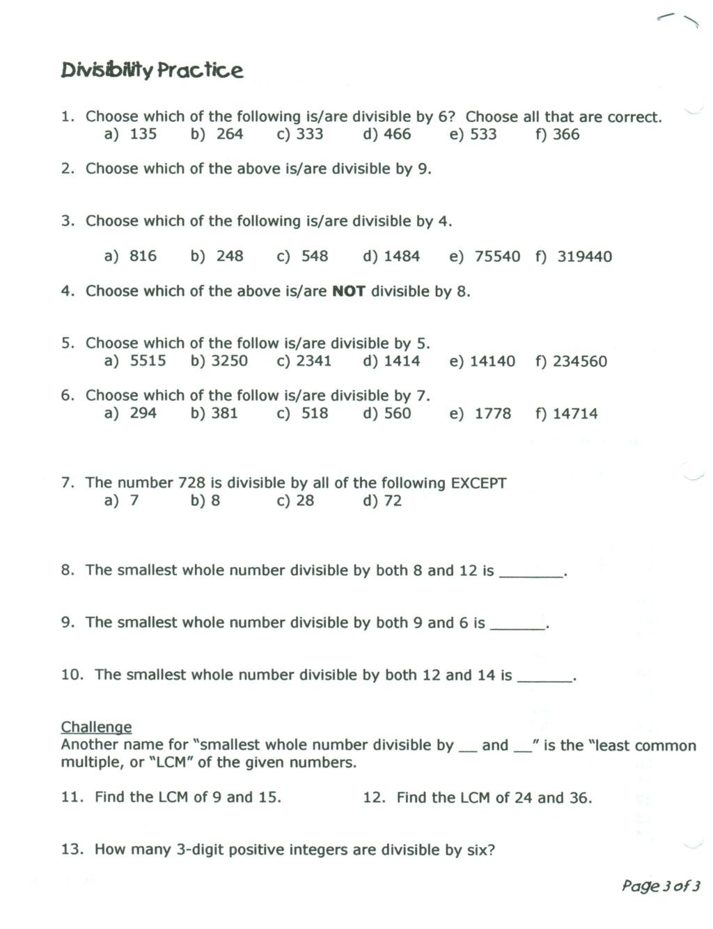 worksheet Staar Test 5th Grade Matheets Printable And 3rd