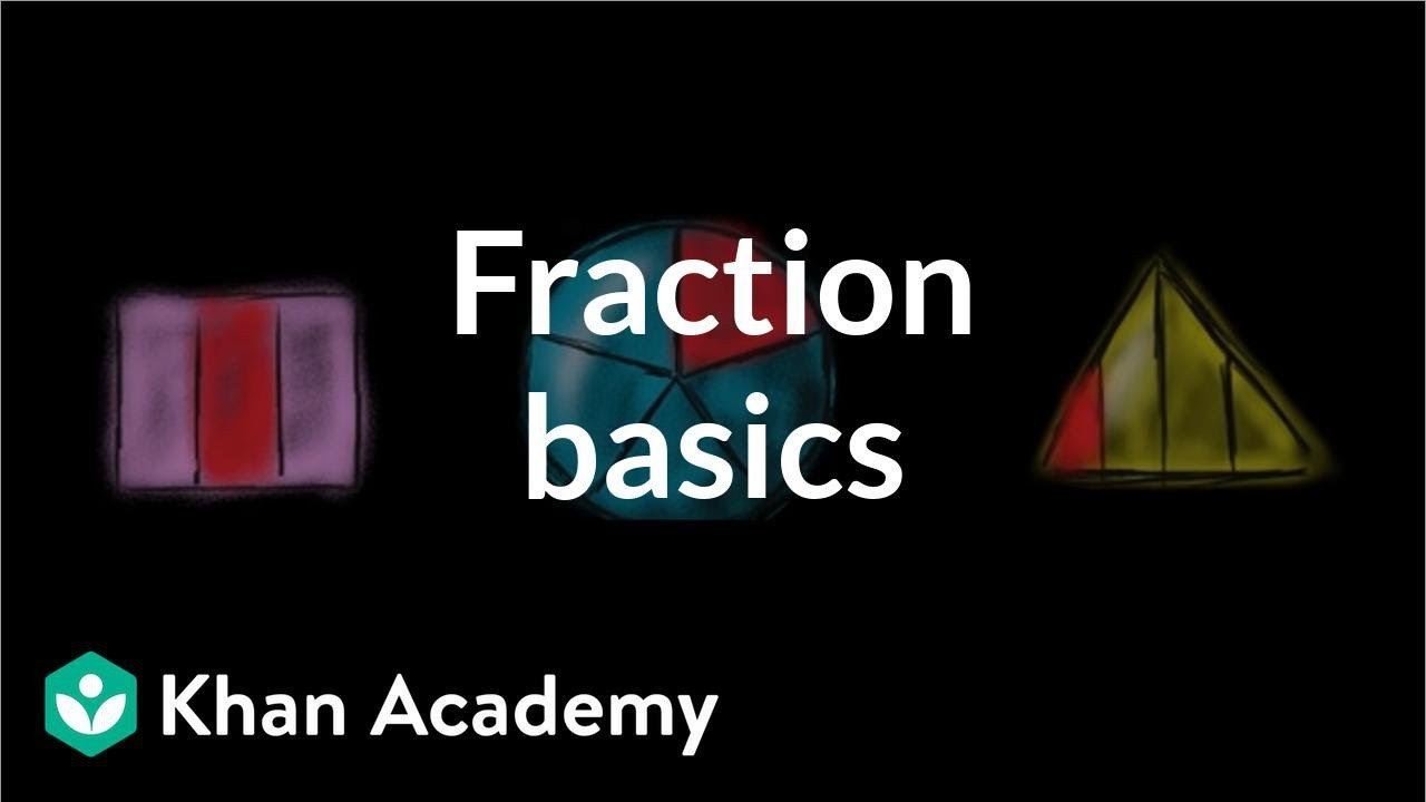 Khan Academy Worksheets Intro to Fractions Video Fractions Intro