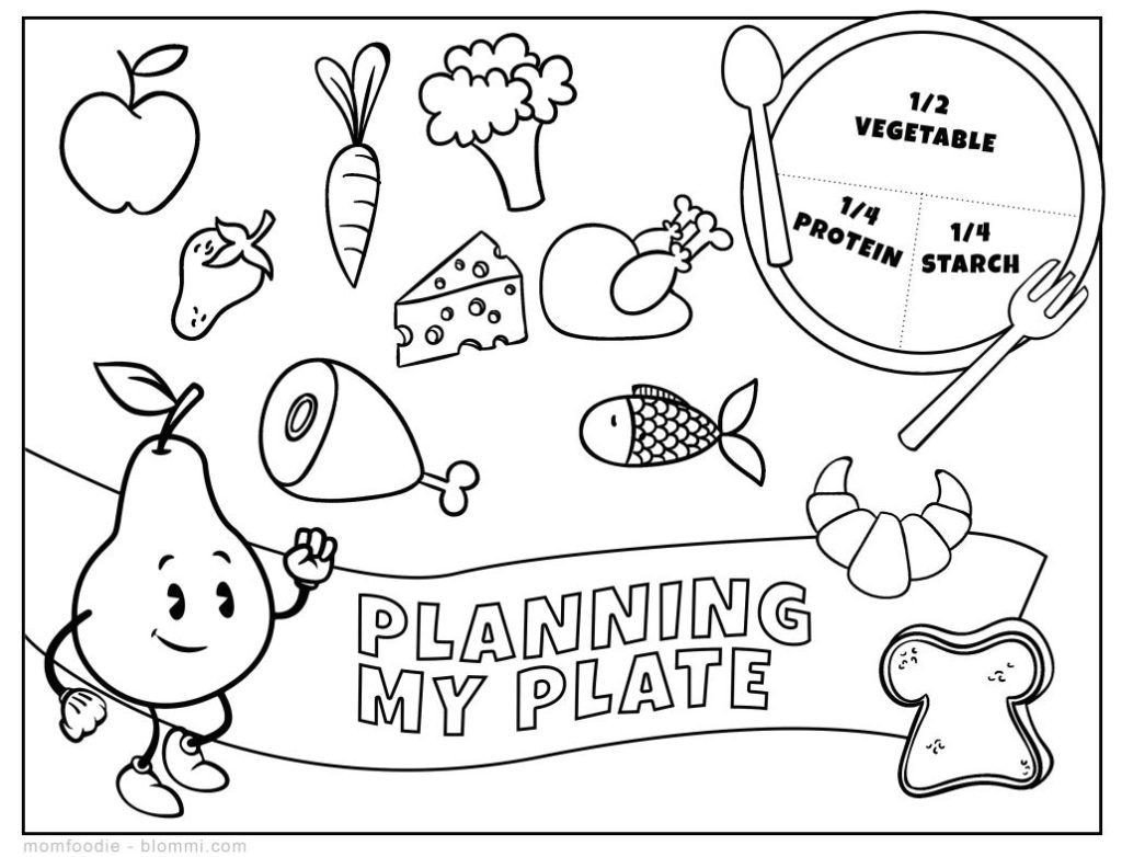 Kindergarten Nutrition Worksheets 9 Free Nutrition Worksheets for Kids Health Beet