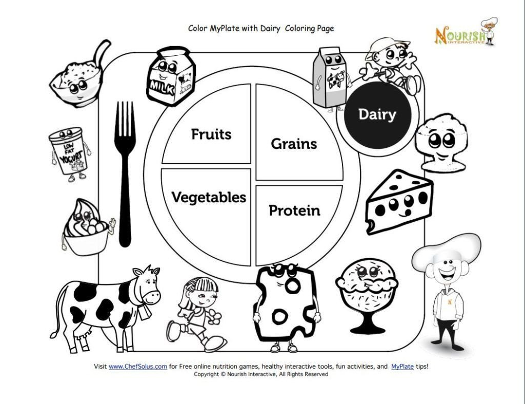 Kindergarten Nutrition Worksheets Extraordinary Freele Activity Sheets for Kids Coloring