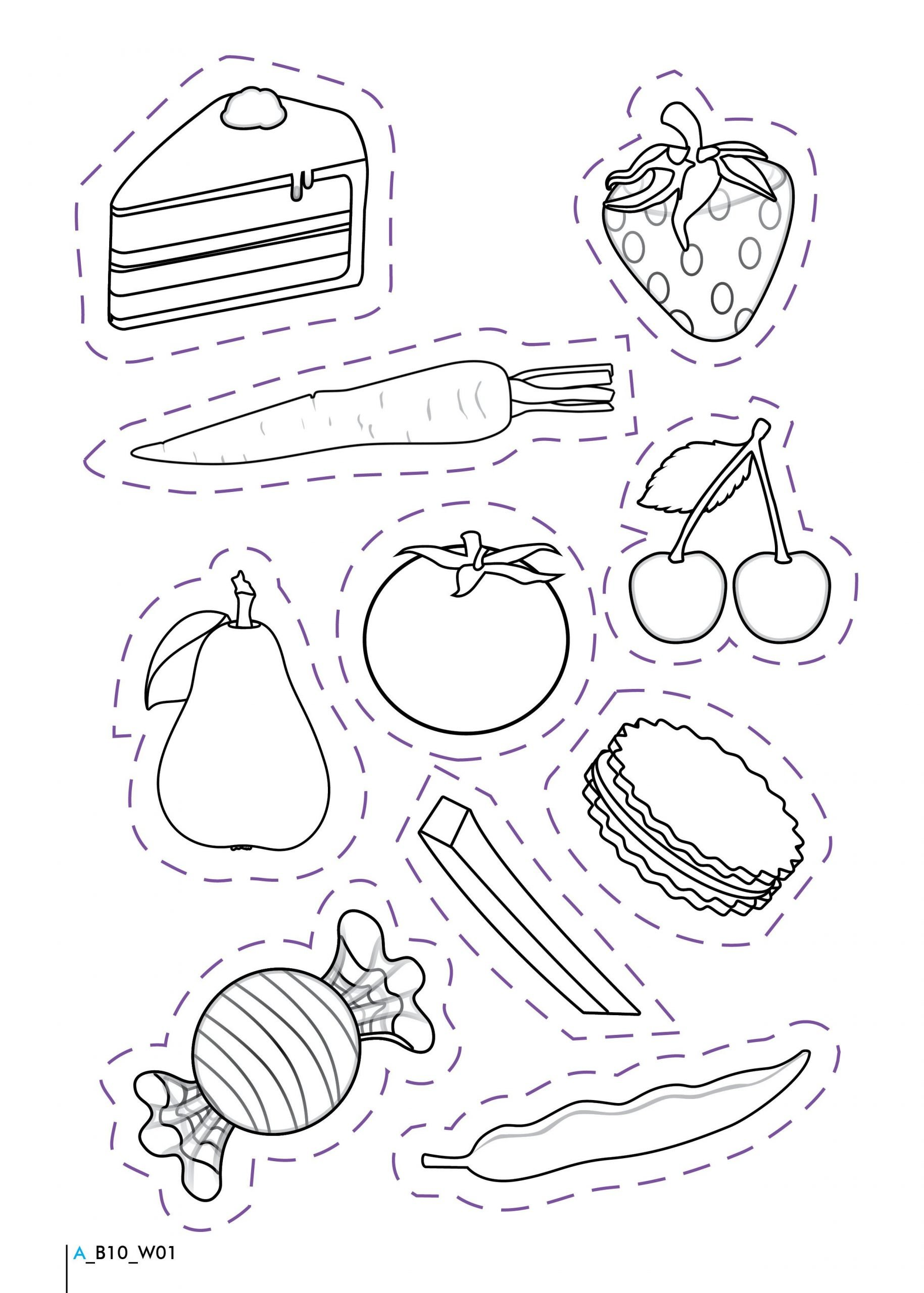 Kindergarten Nutrition Worksheets Healthy and Unhealthy Foods Worksheet