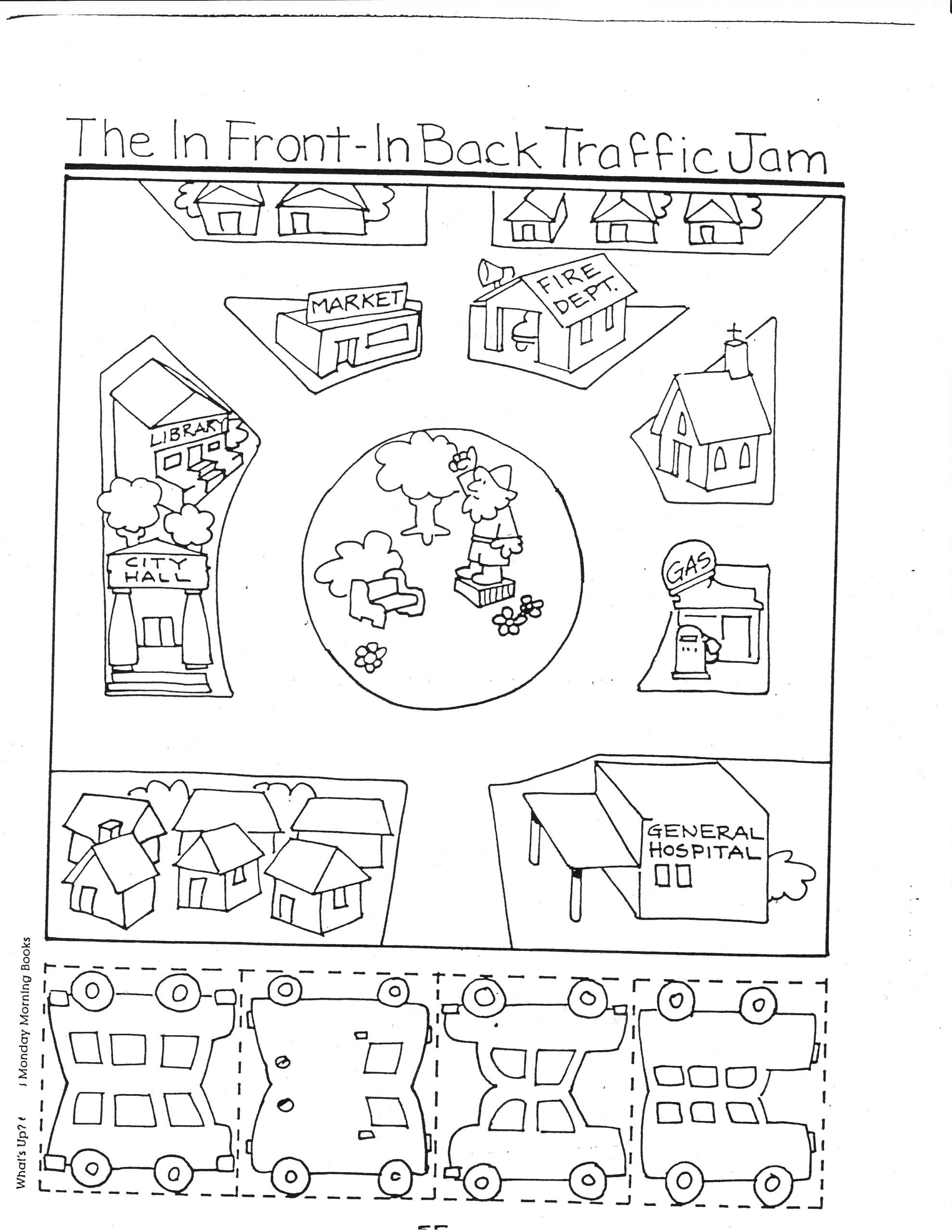 Kindergarten social Studies Worksheets Pdf Transportation Kindergarten Nana Printable Self Esteem
