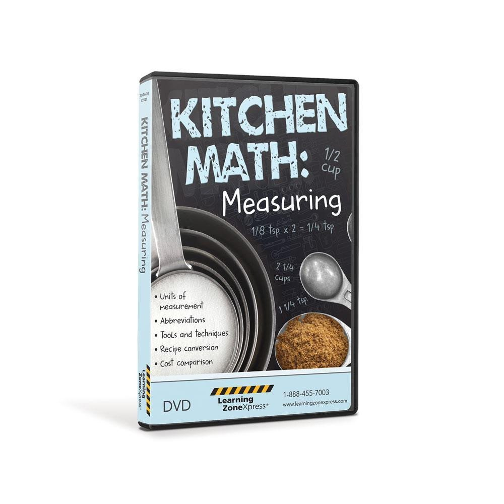 Kitchen Math Worksheets Kitchen Math Measuring Dvd