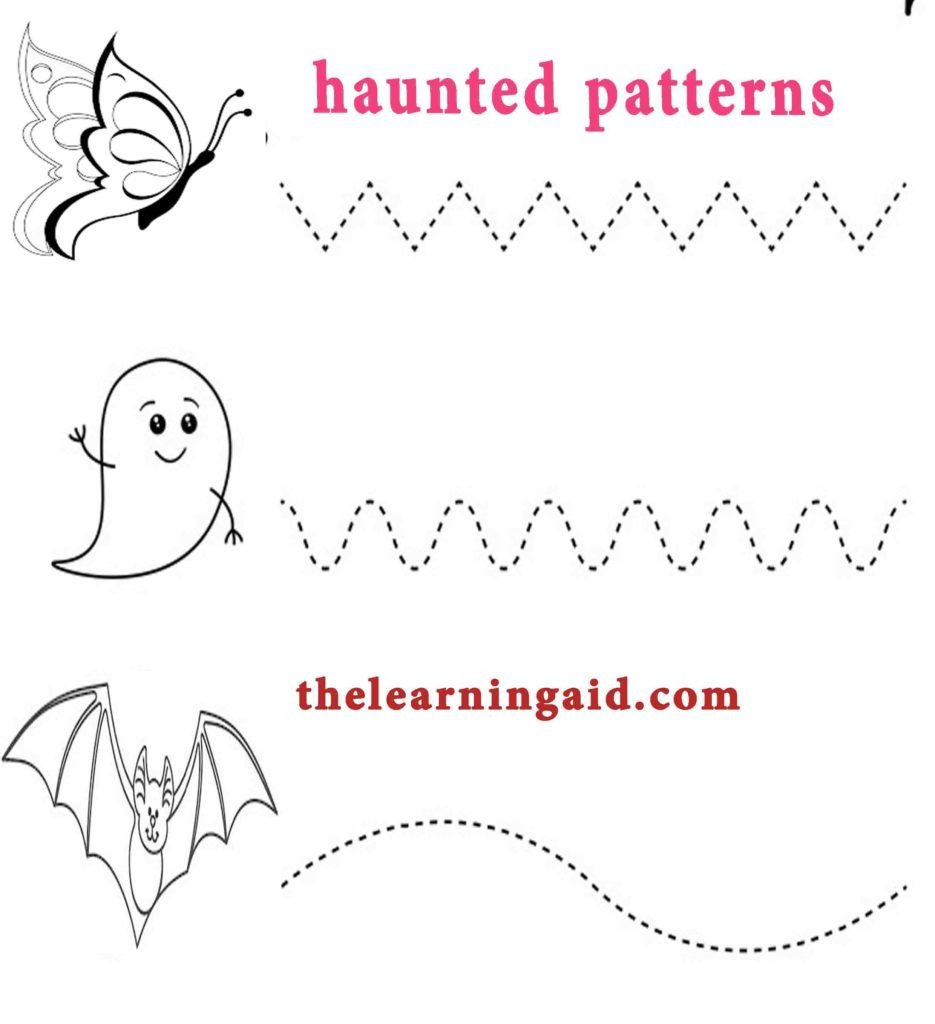 Line Pattern Worksheets Trace the Patterns Worksheets for Play Group