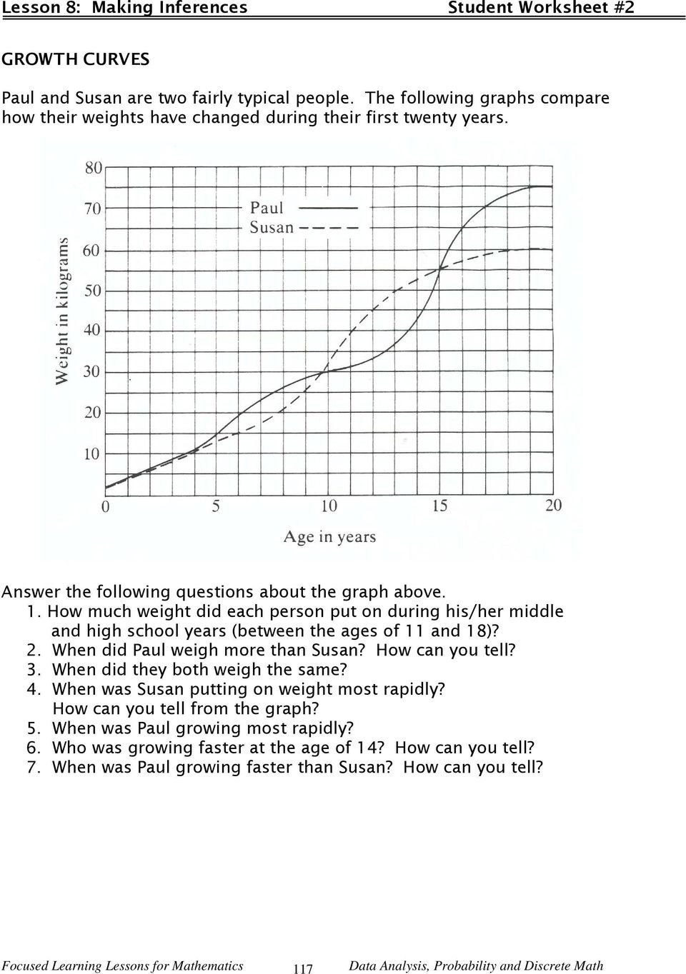 Making Inferences Worksheet Pdf Lesson Making Inferences Pdf Free From Graphs Worksheets