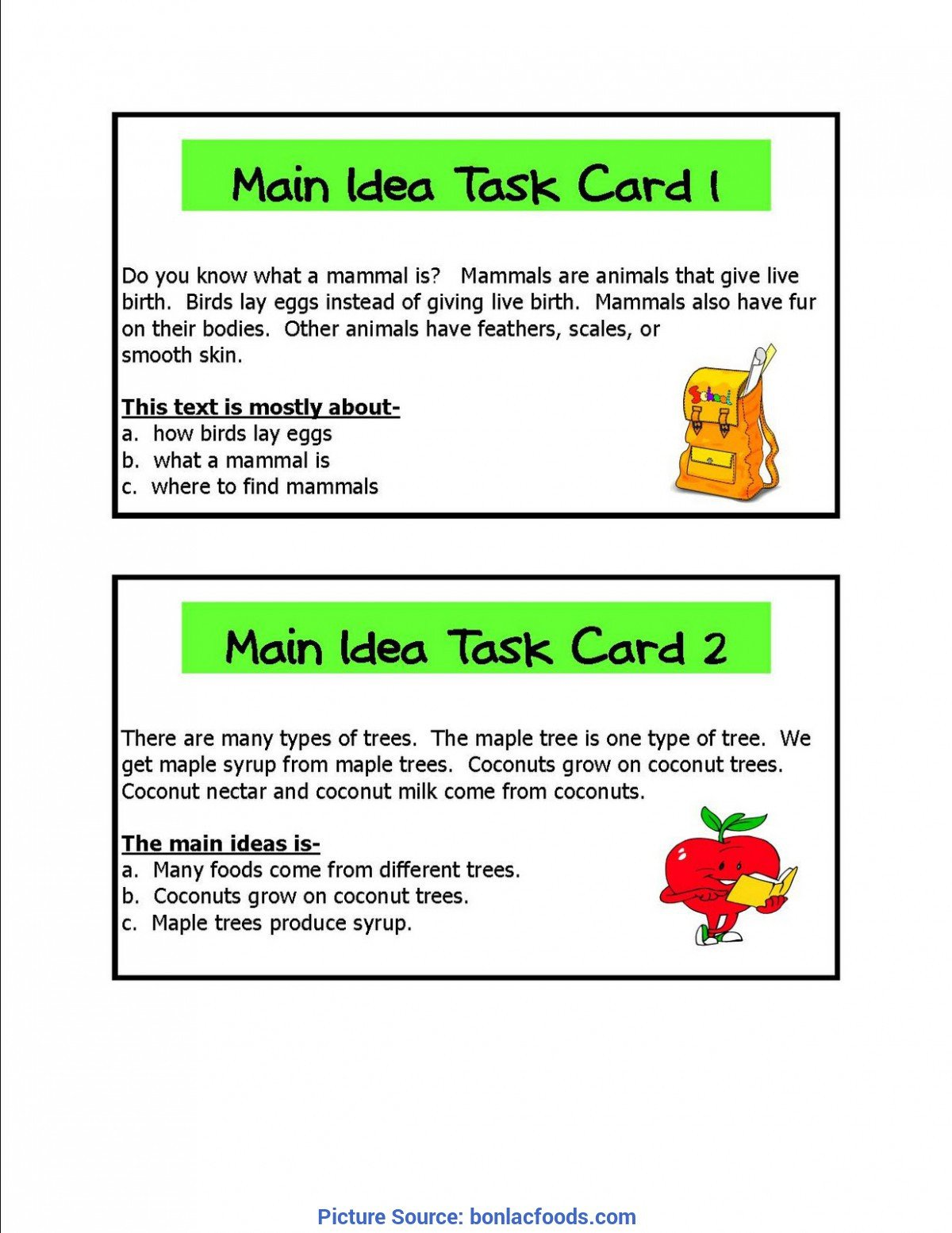 Mammals Worksheet First Grade Main Idea Kindergarten Worksheets Worksheets for All