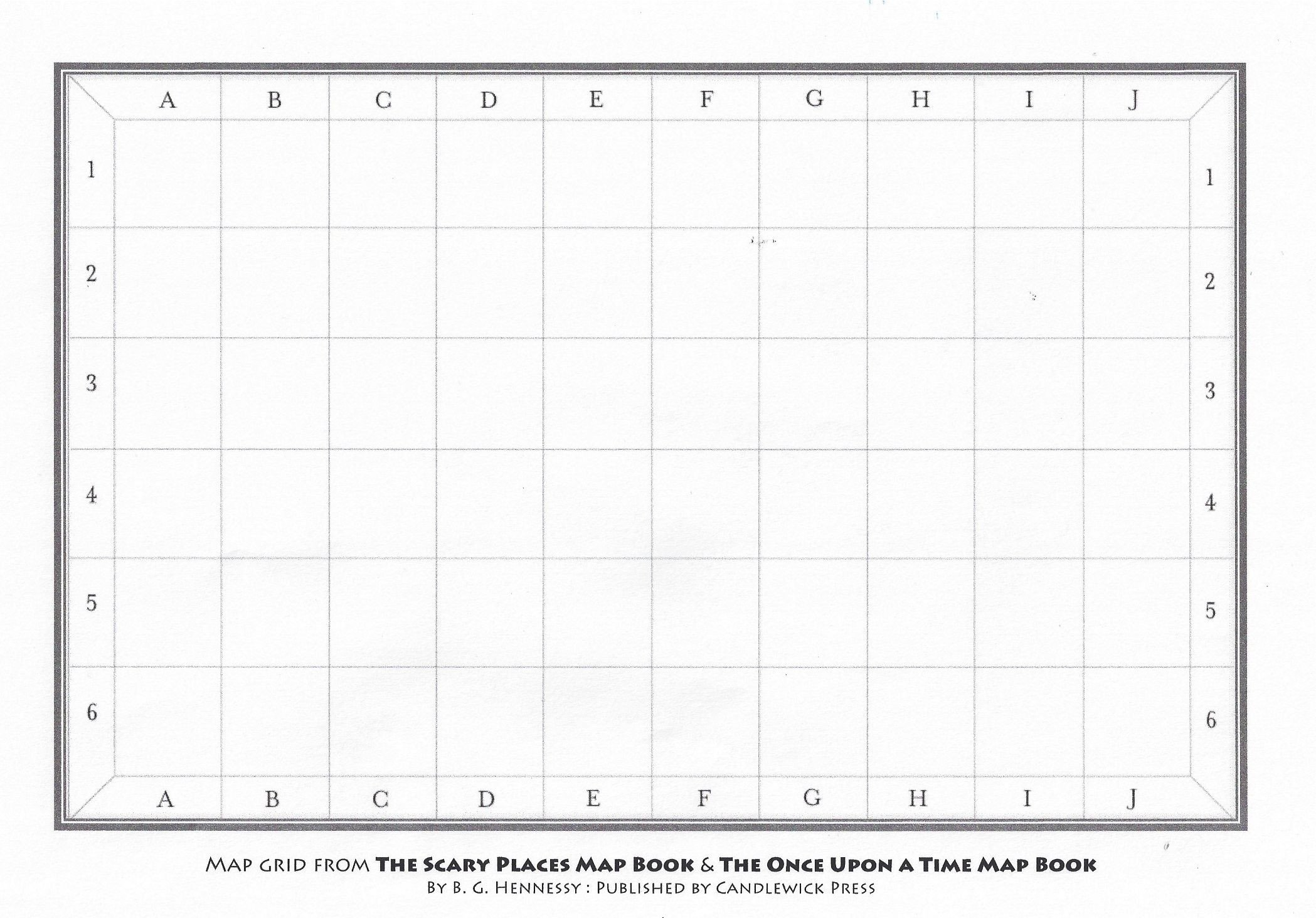 Map Grid Worksheets Blank Map Grid