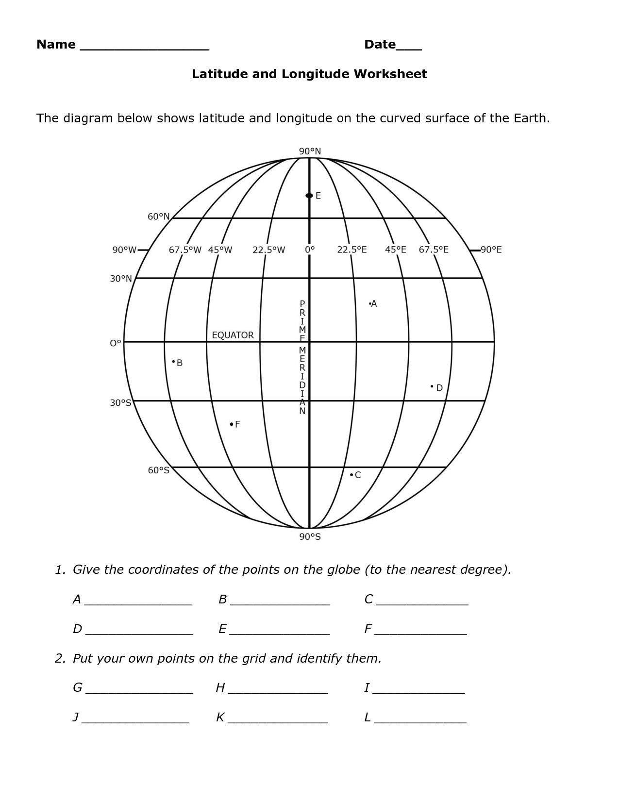 Map Grid Worksheets Skills Worksheet Map Skills Us Crops Best Using Latitude and