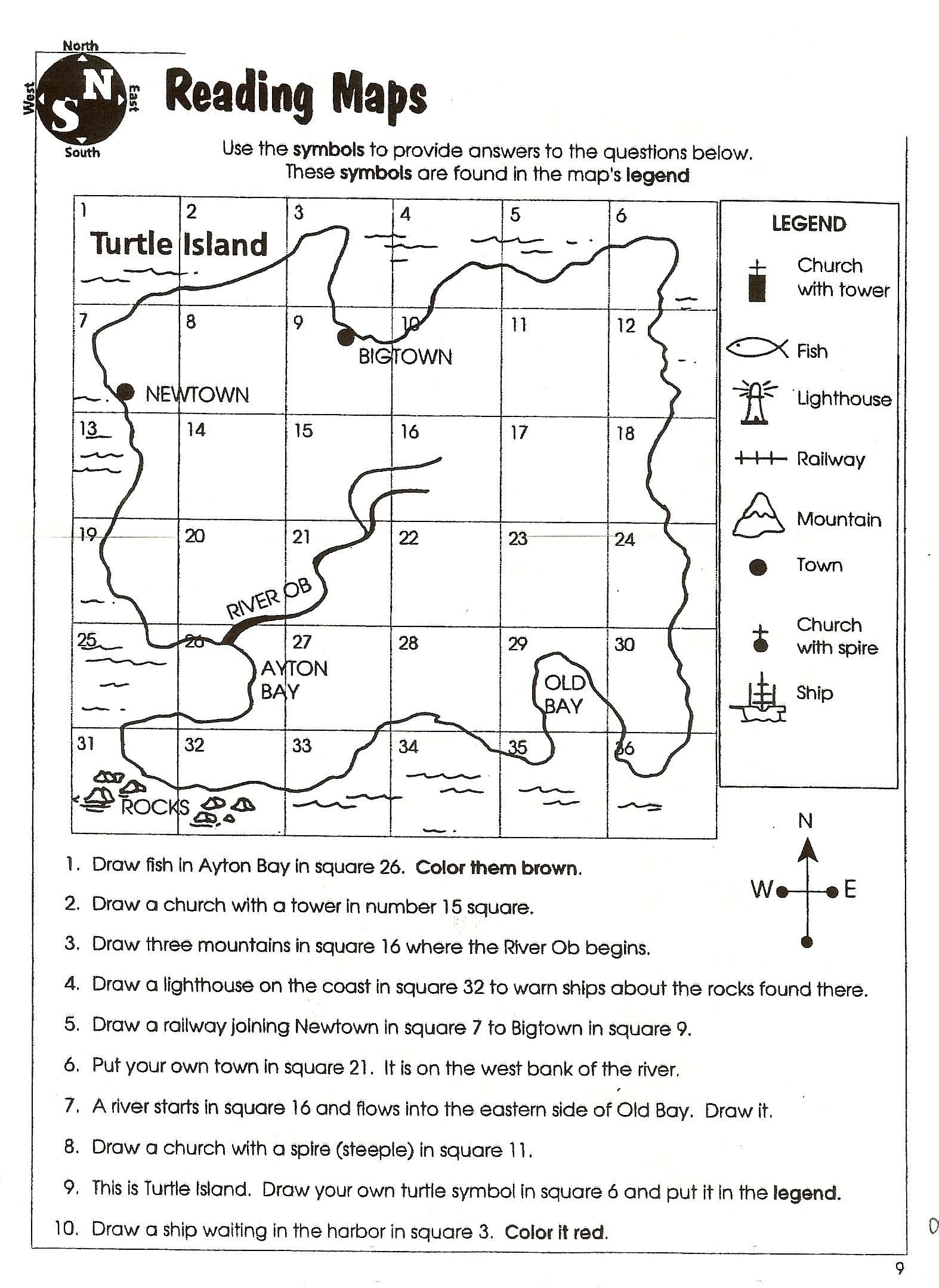 map scale projects for fourth graders yahoo search results