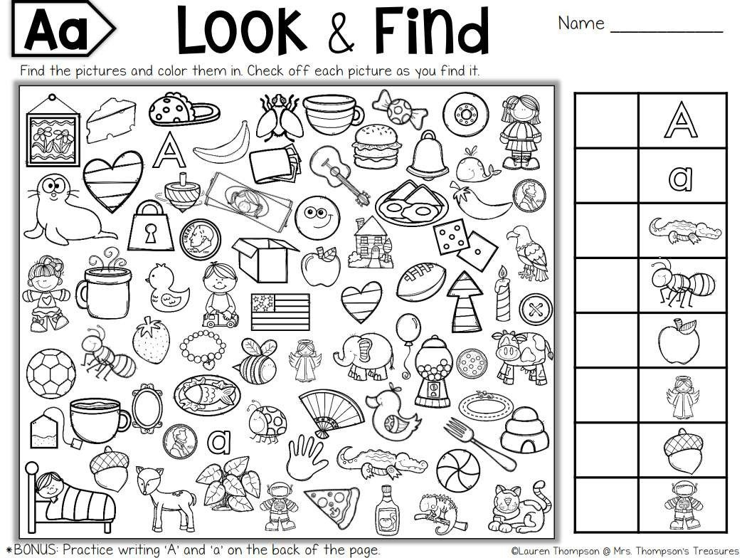 Math Hidden Picture Worksheets Free Printable Hidden Puzzles for Kids Objects Worksheets