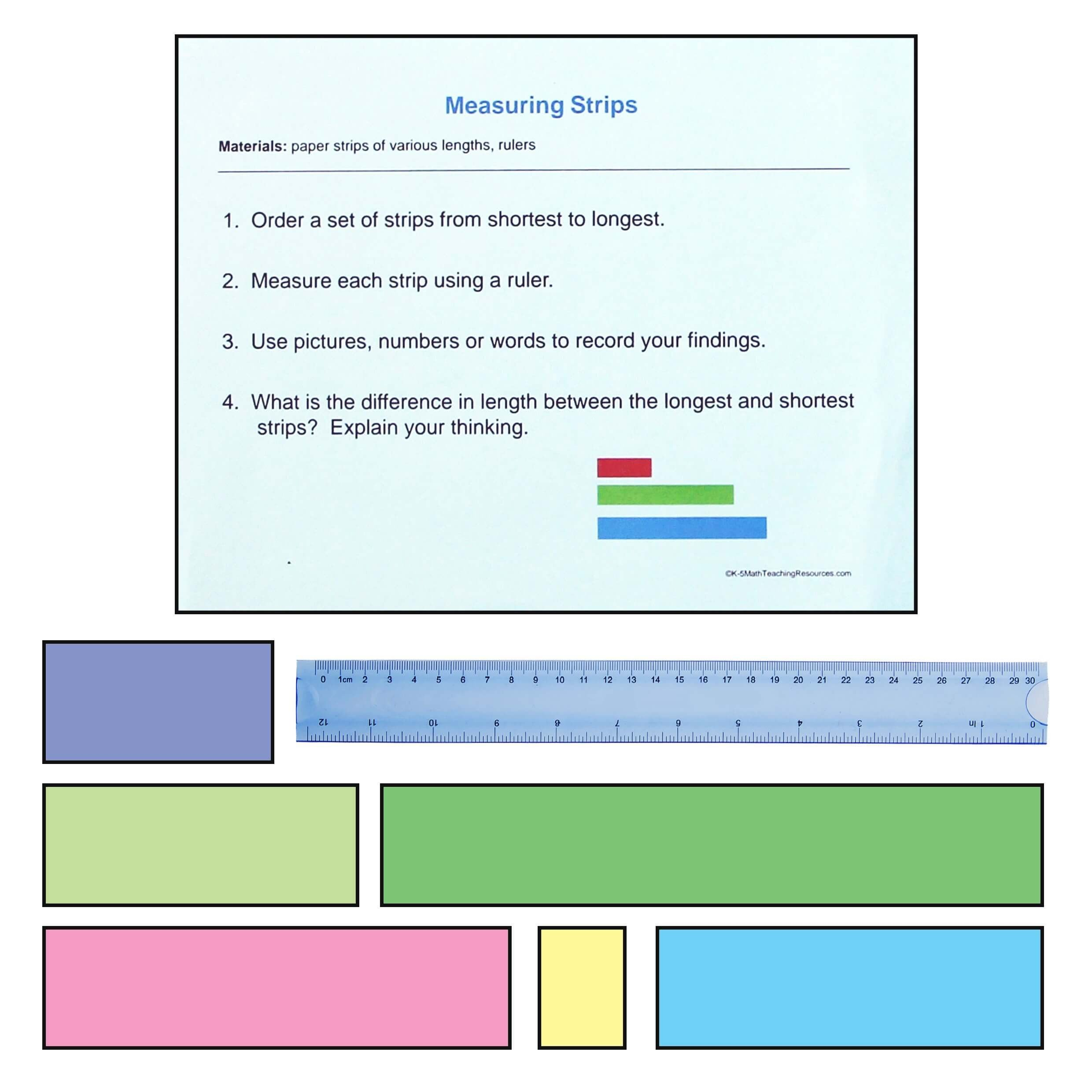 Measuring Inches Worksheet 2nd Grade Measurement and Data