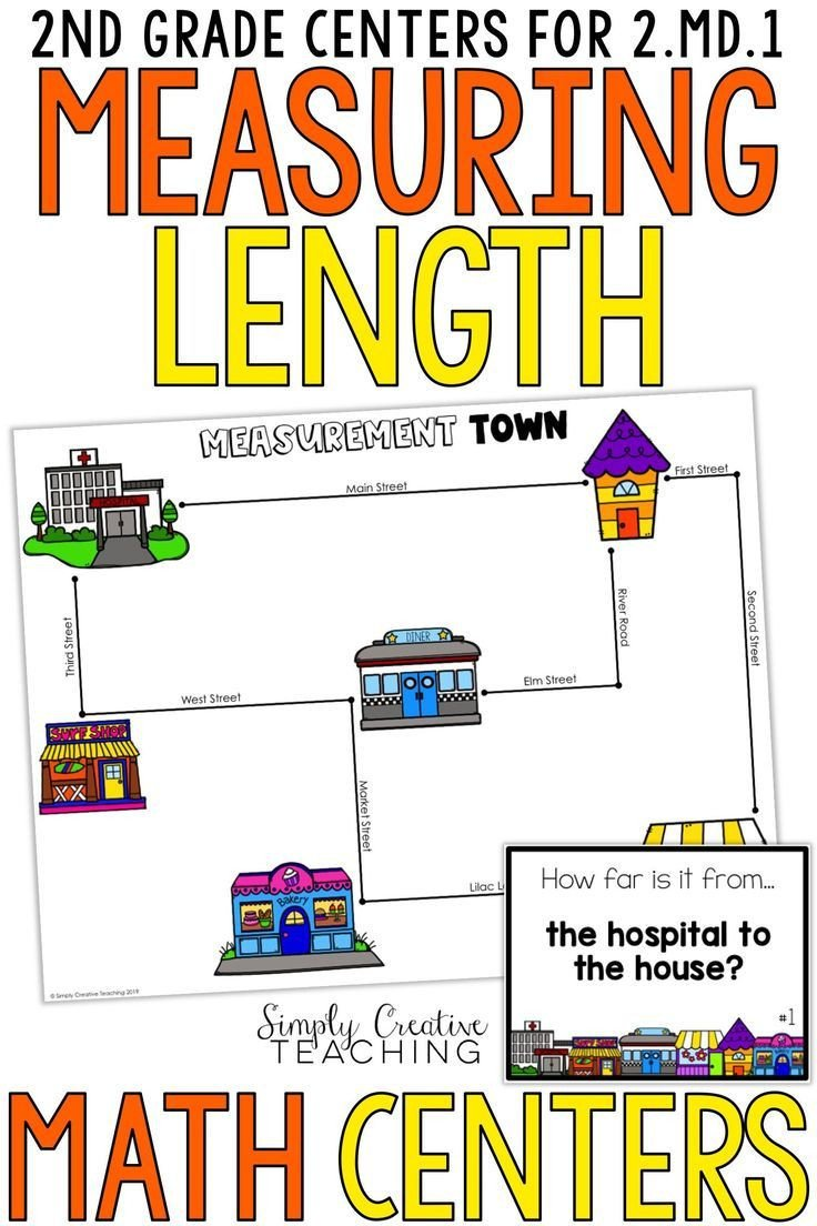 Measuring Worksheet 2nd Grade these Second Grade Measuring Length Activities for Mon