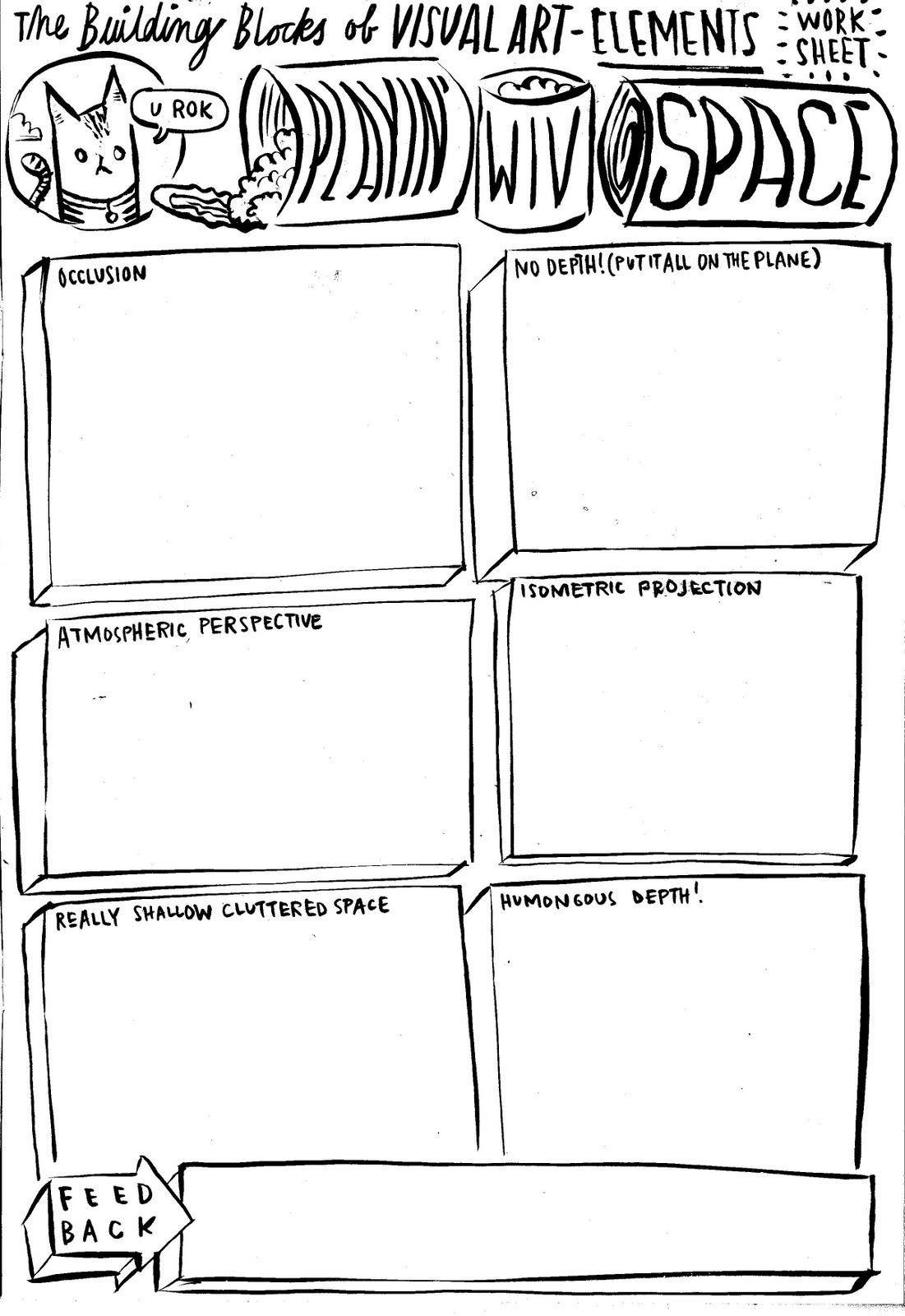 Middle School Art Worksheets Dan Haycocks Blog Unbatondecolle Looko Wwt