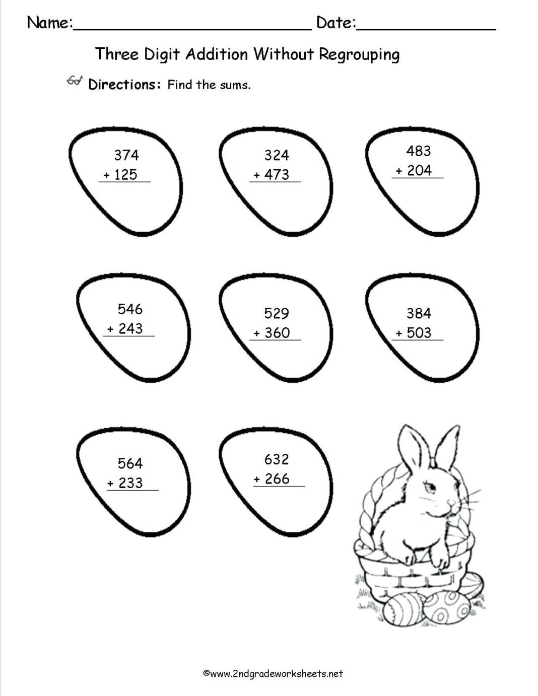 Missing Addends Worksheets First Grade 1st Grade Printables – Kingandsullivan